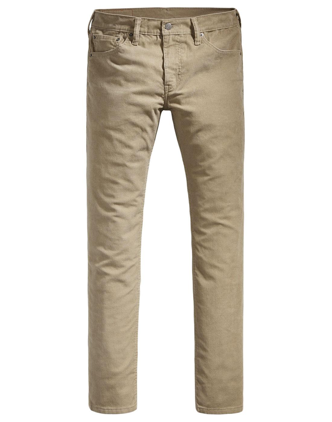 840b0ae2c29 LEVI'S® 511 Men's Retro Mod 1960s Mens Slim Fit Cord Jeans Sand