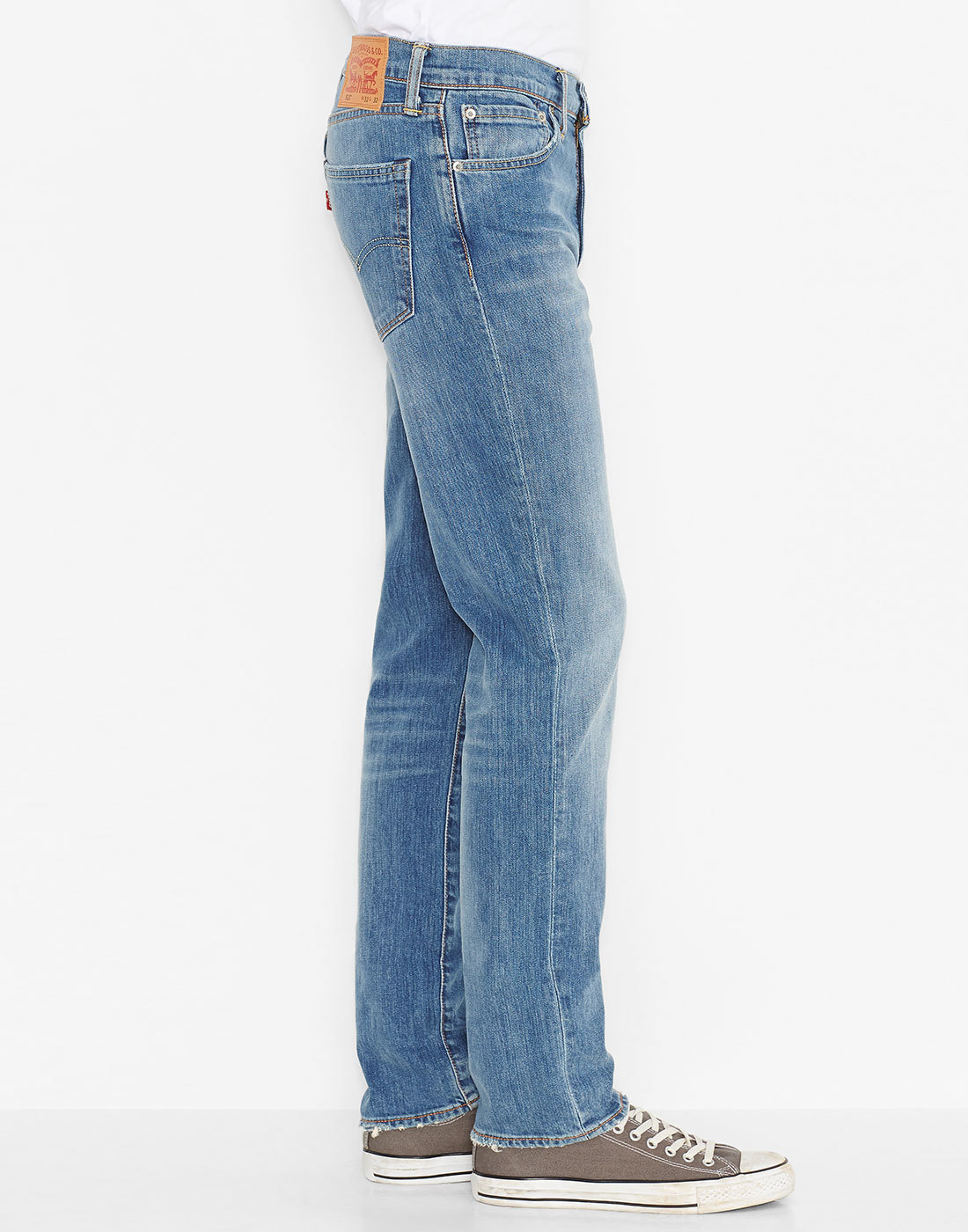 LEVI'S® 511 Retro Slim Fit Mod Denim Jeans in Harbour Blue