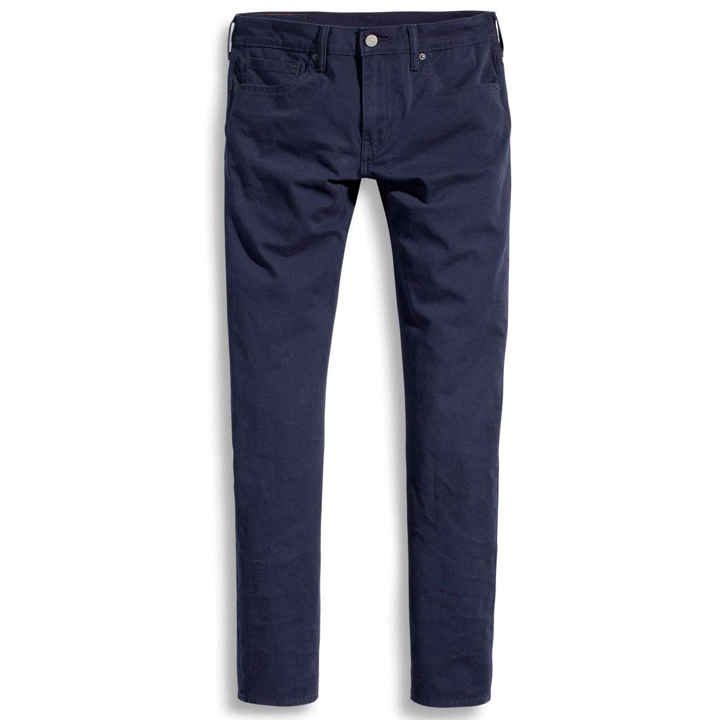 LEVI'S 512 Mens Retro Slim Taper Chinos NIGHTWATCH