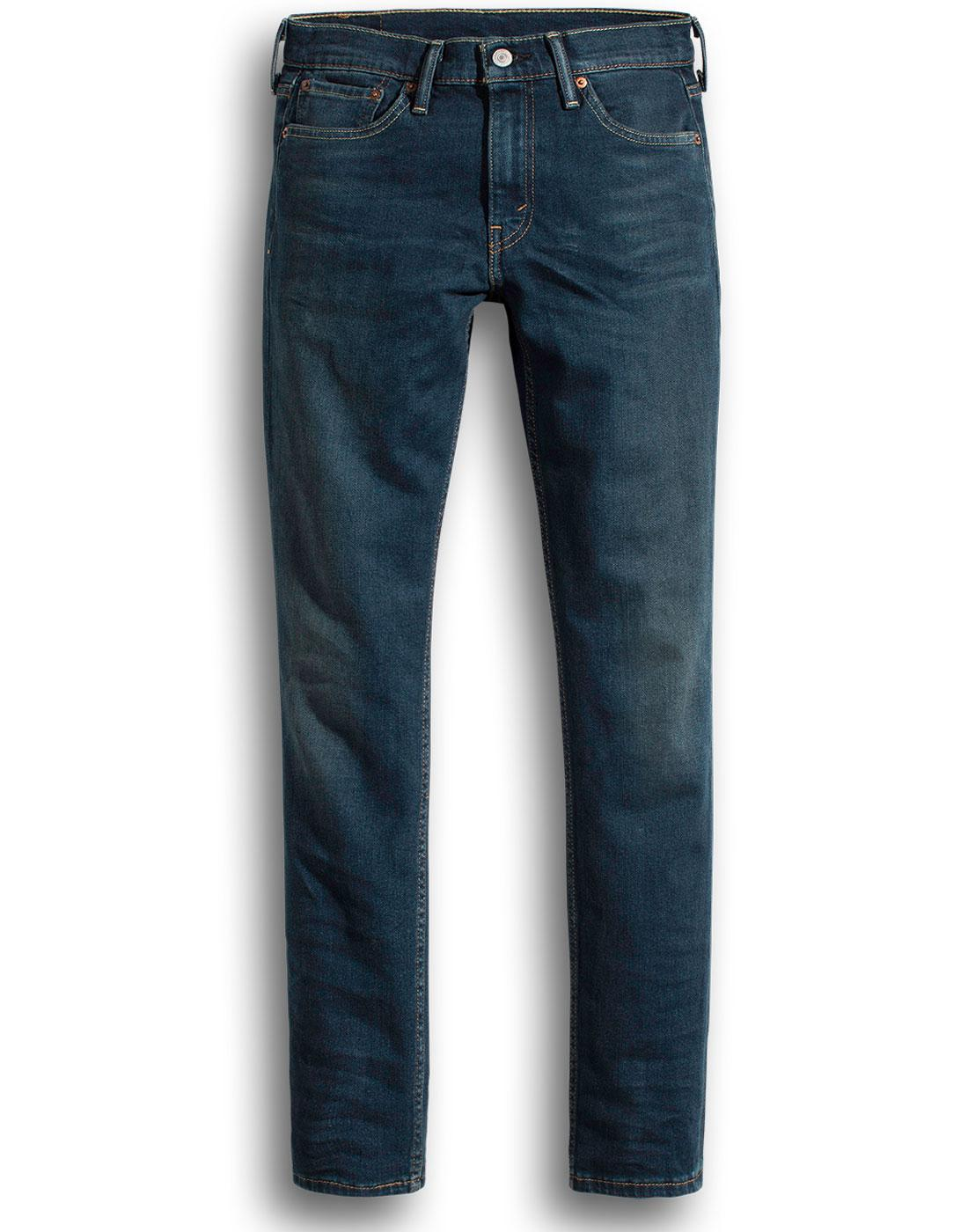 LEVI'S 512 Slim Taper Fit Retro Denim Jeans ROTH