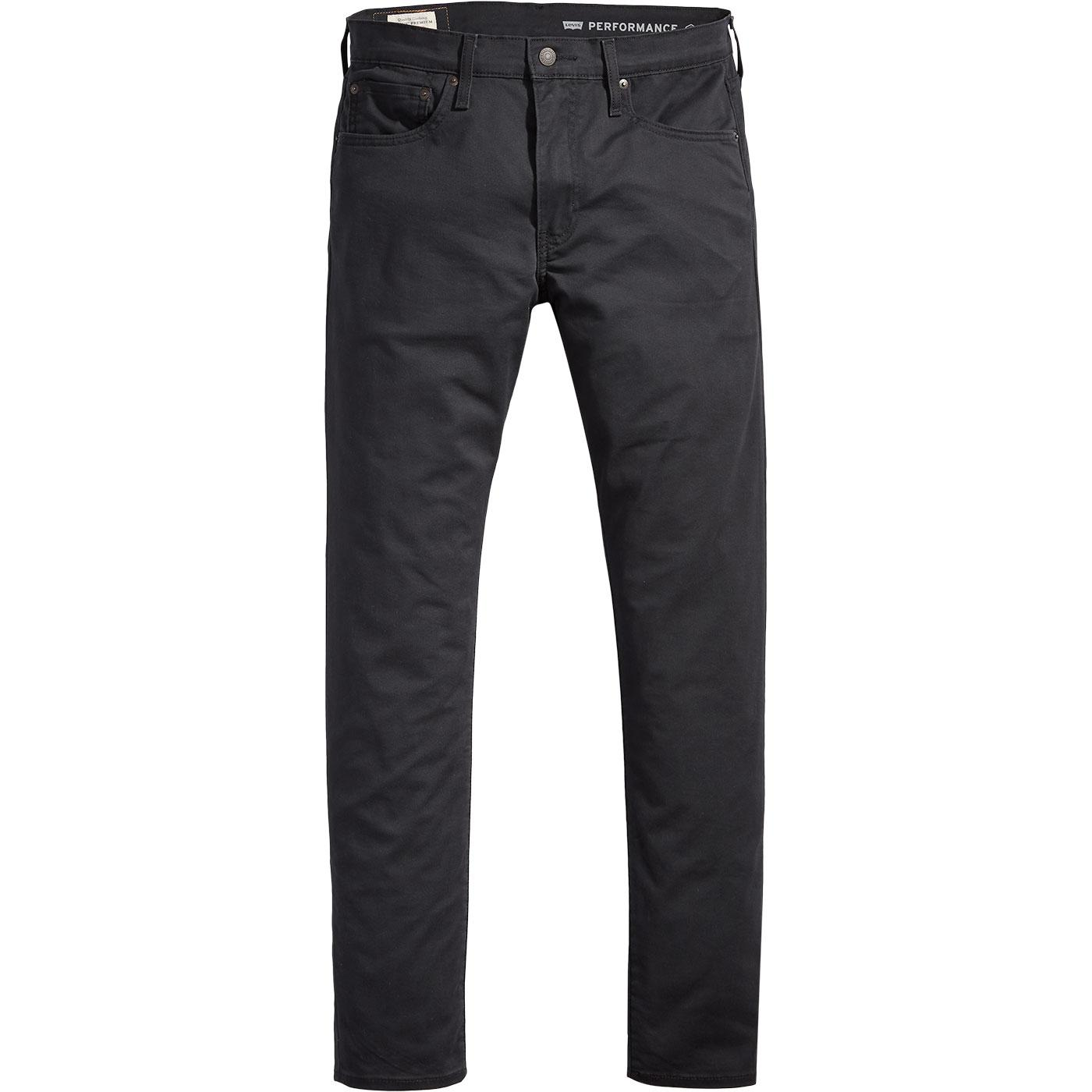 LEVI'S 512 Men's Retro Slim Taper Chinos (Caviar)