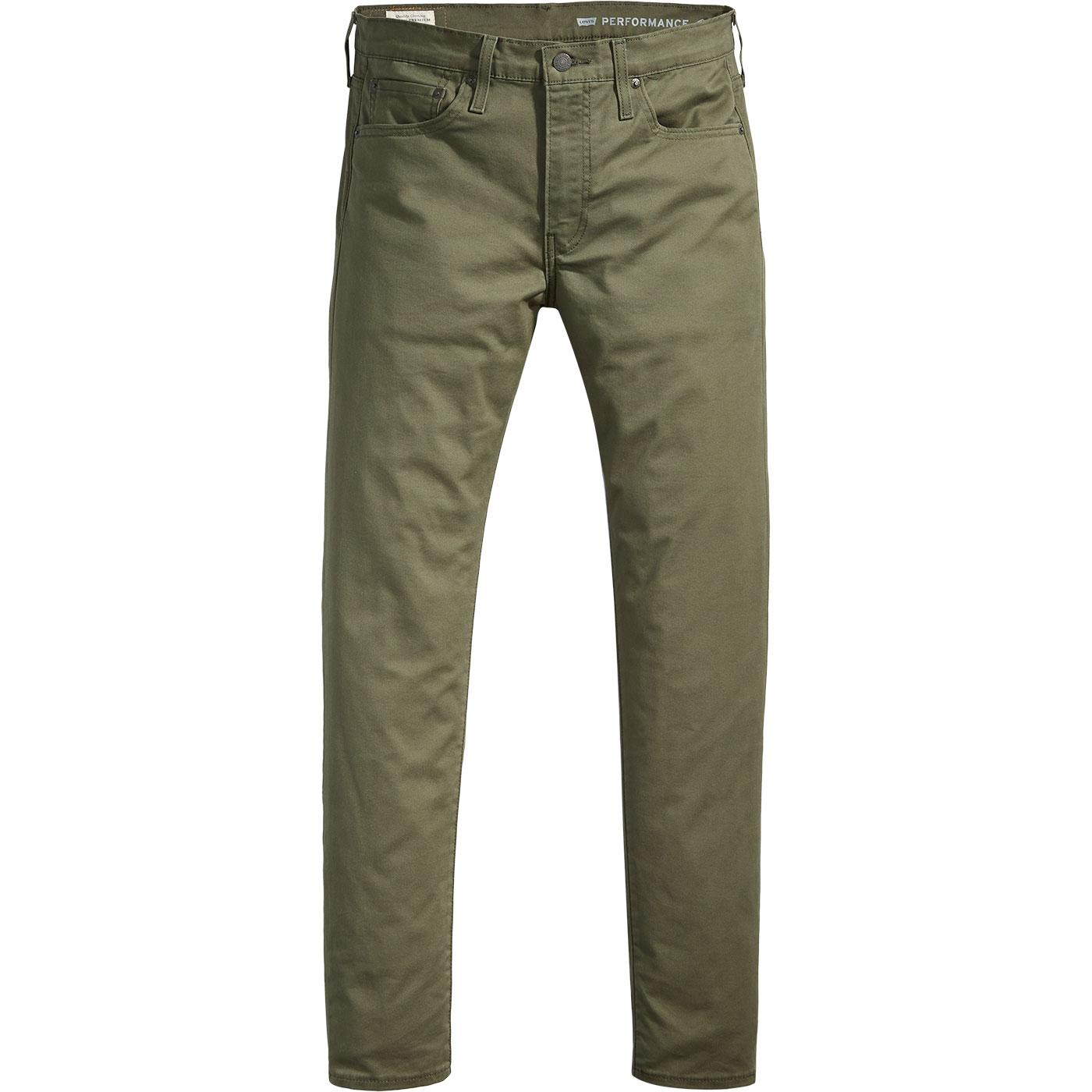 LEVI'S 512 Men's Slim Taper Chinos (Olive Night)