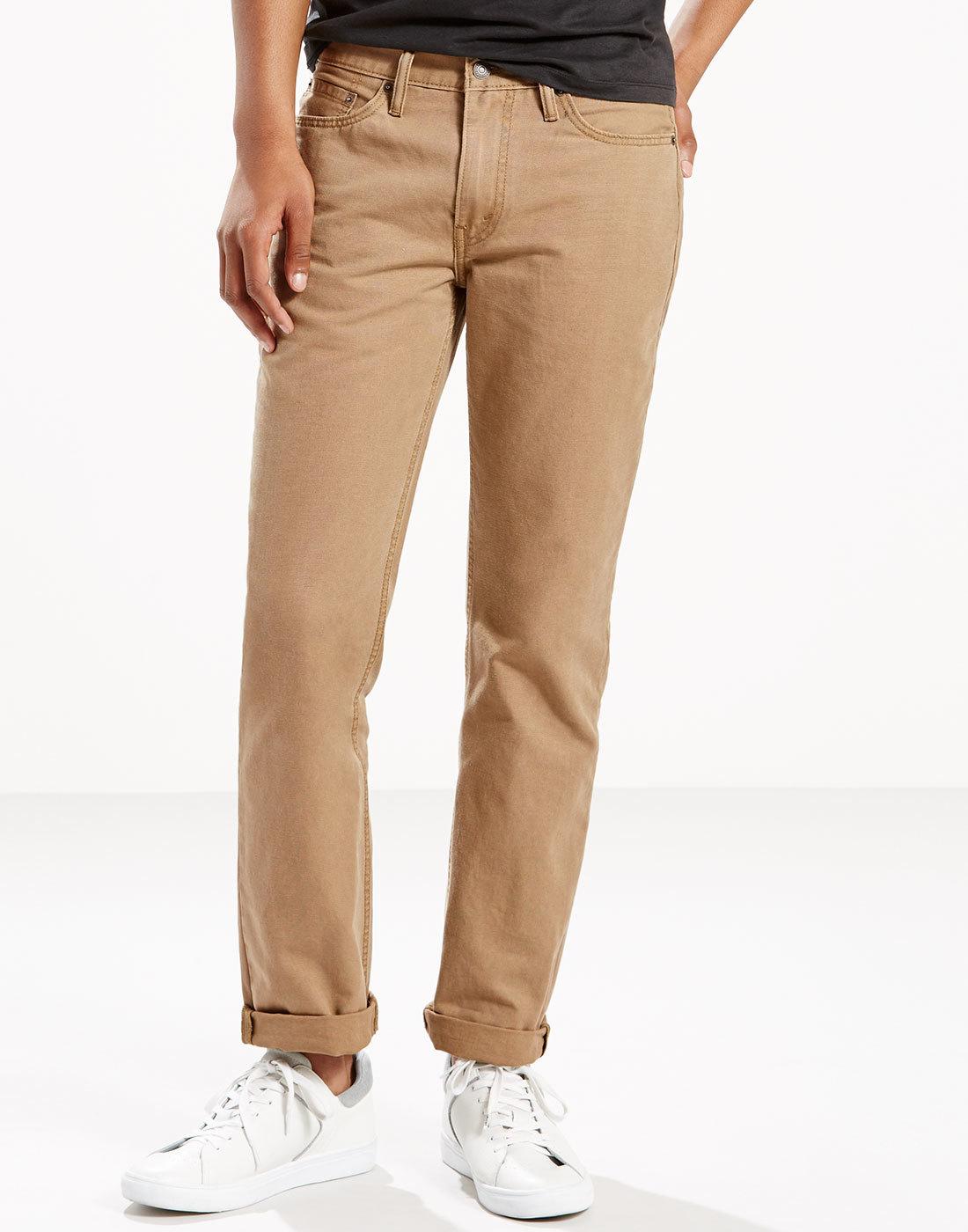 LEVI'S® 514 Regular Straight Cotton Canvas Jeans S