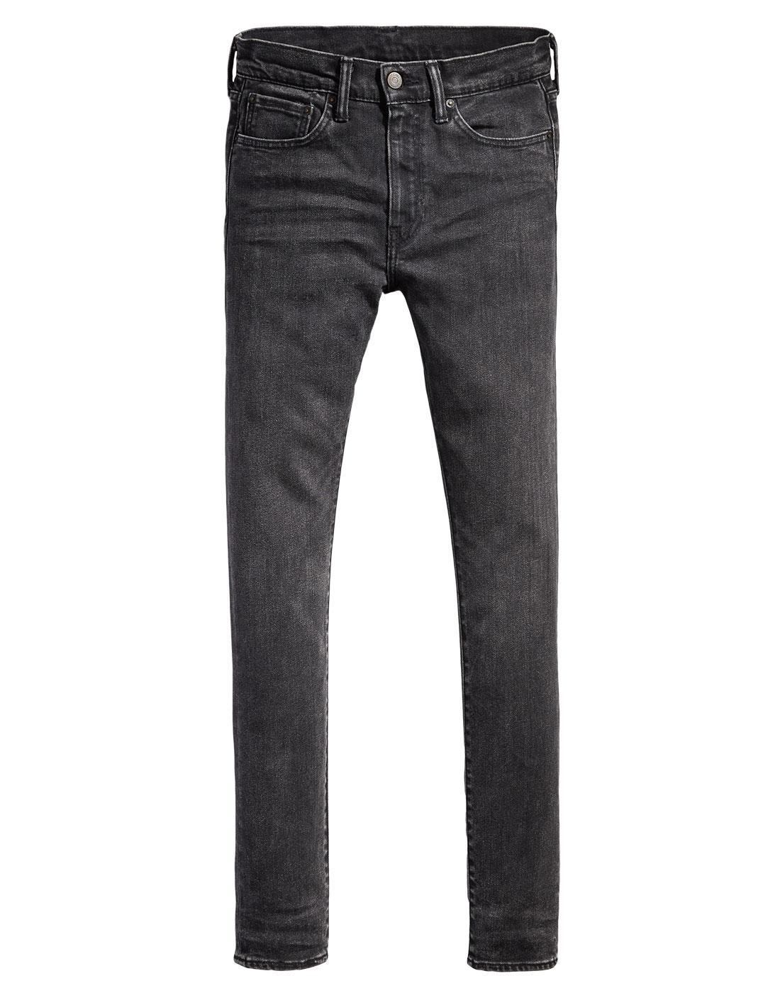 LEVI'S 519 Retro Mod Extreme Skinny Jeans BASEMENT