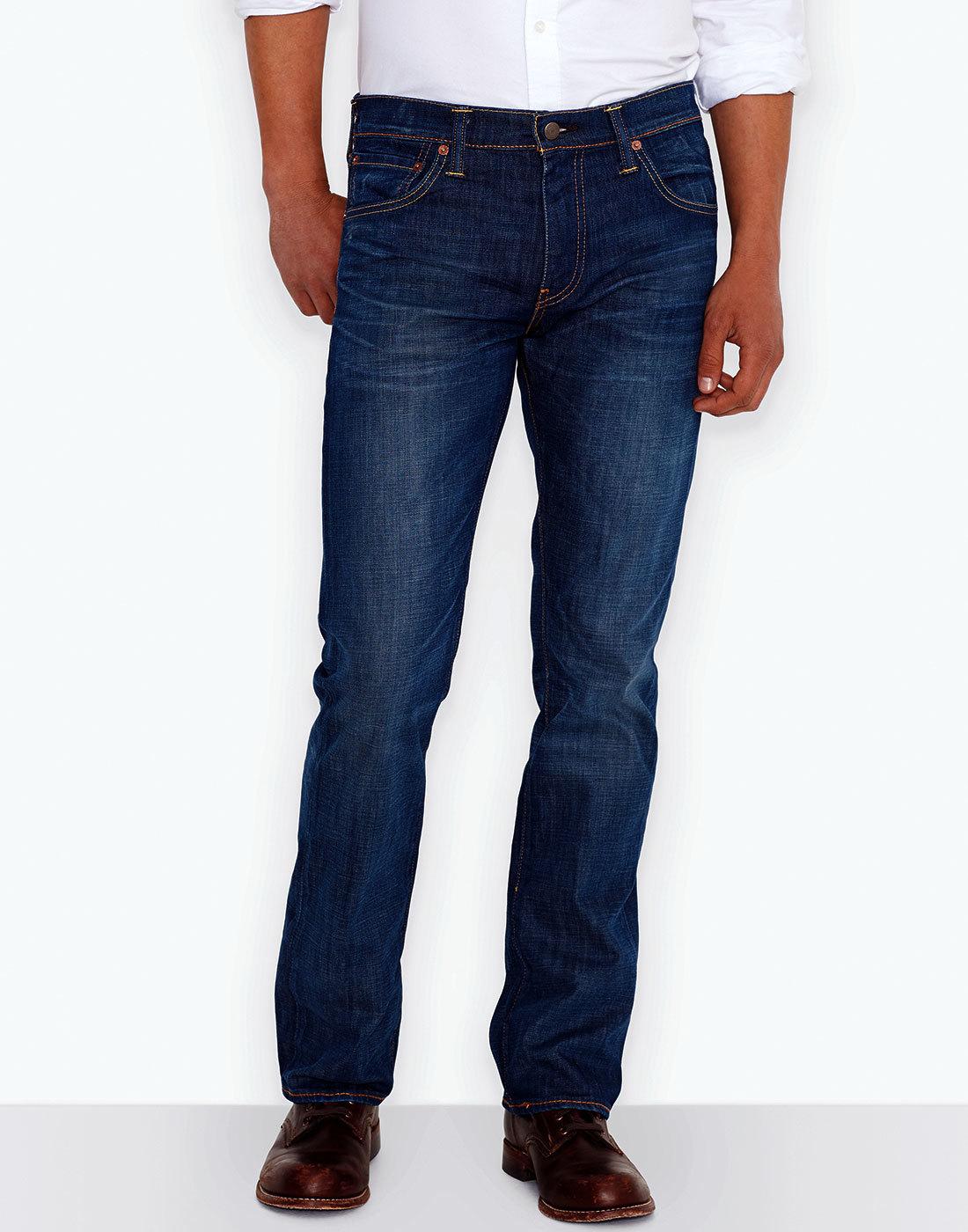 696e8e1f LEVI'S® 527 Retro Mens Slim Boot Cut Denim Jeans in Festival Rain