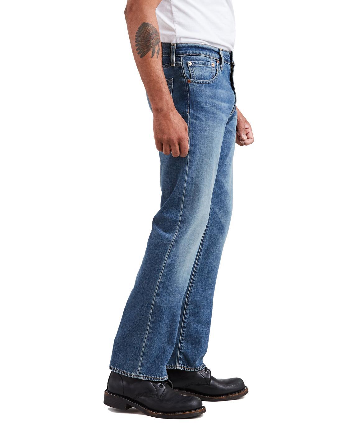 LEVI'S 527 Retro Men's Slim Bootcut Jeans PULLEY