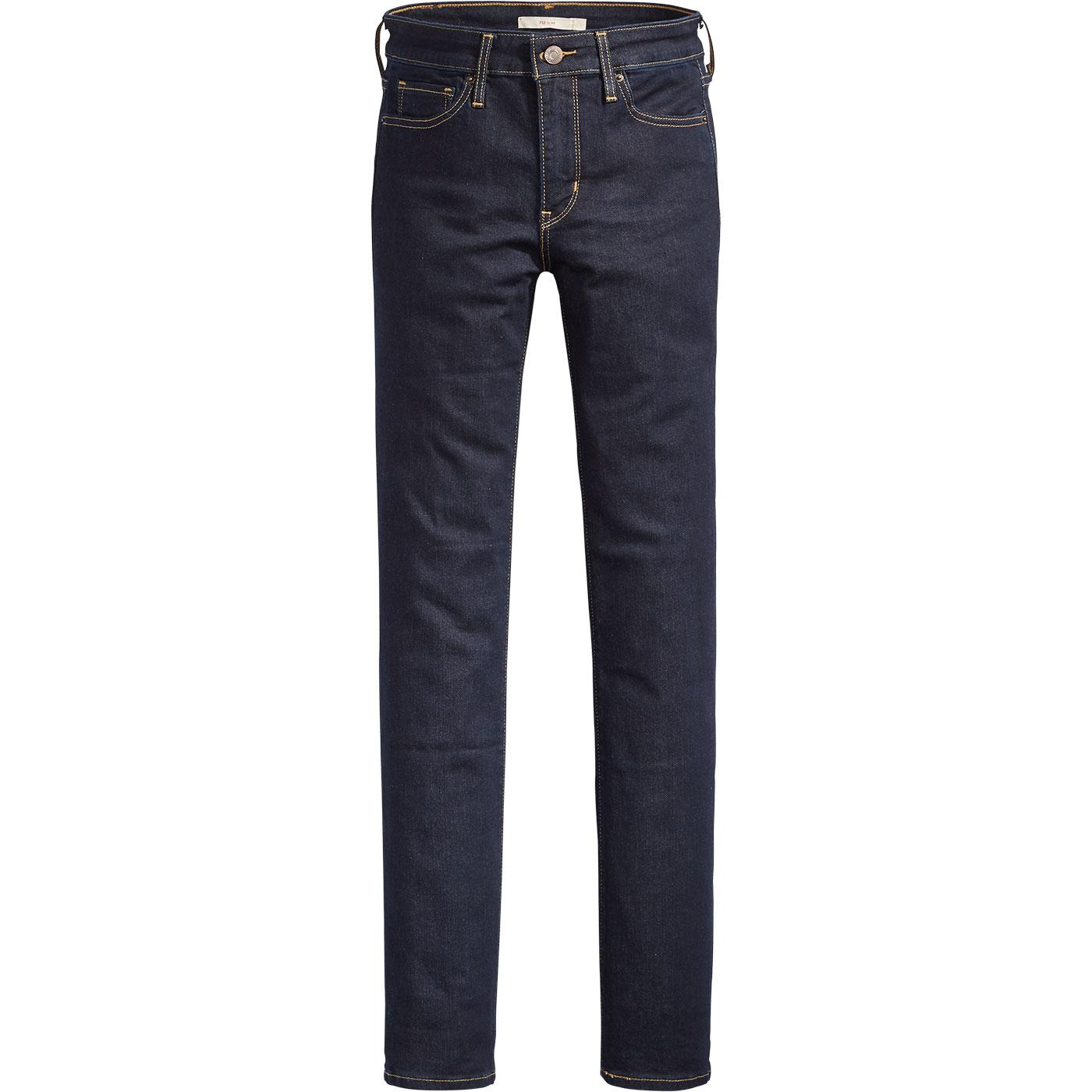 LEVI'S 712 Women's  Slim Jeans - To The Nine