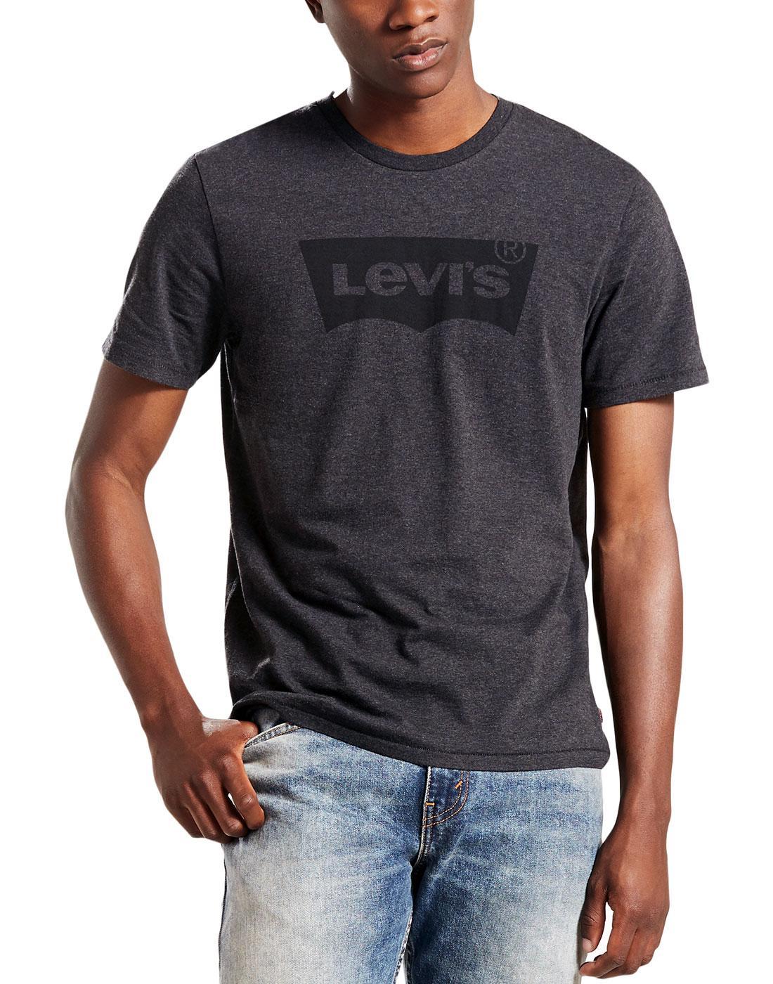 LEVI'S Mens Retro Housemark Batwing Logo Tee (BH)