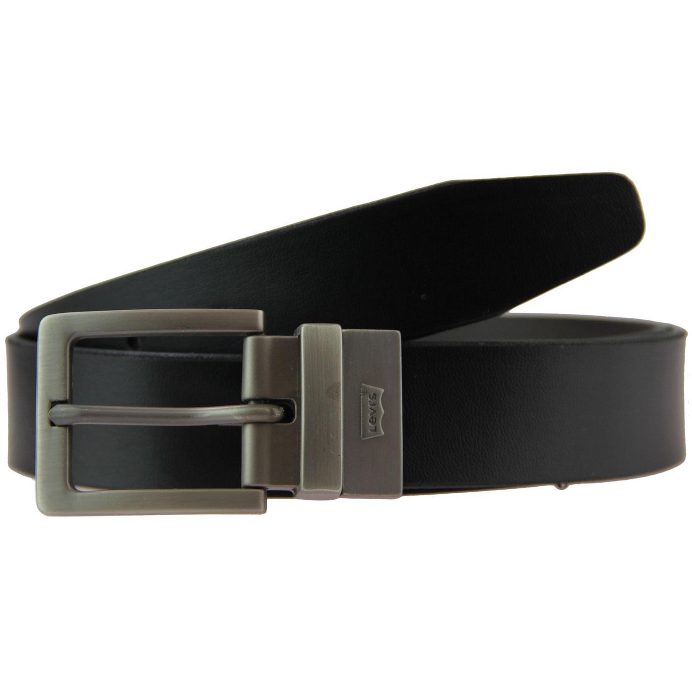 Big Bend LEVI'S Retro Reversible Belt BLACK/BROWN