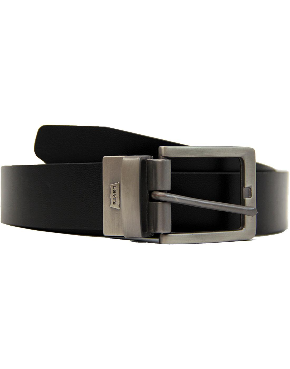 Big Bend LEVI'S® Indie Reversible Belt Black/Brown