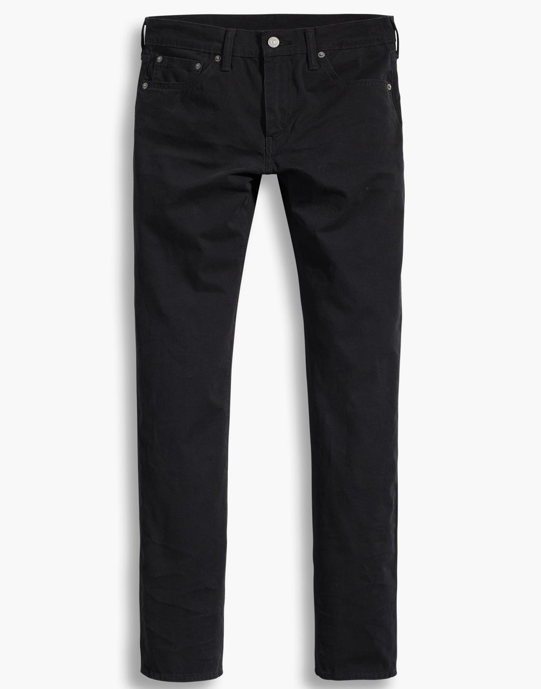 LEVI'S 511 Retro Mod Slim Fit Chinos MINERAL BLACK