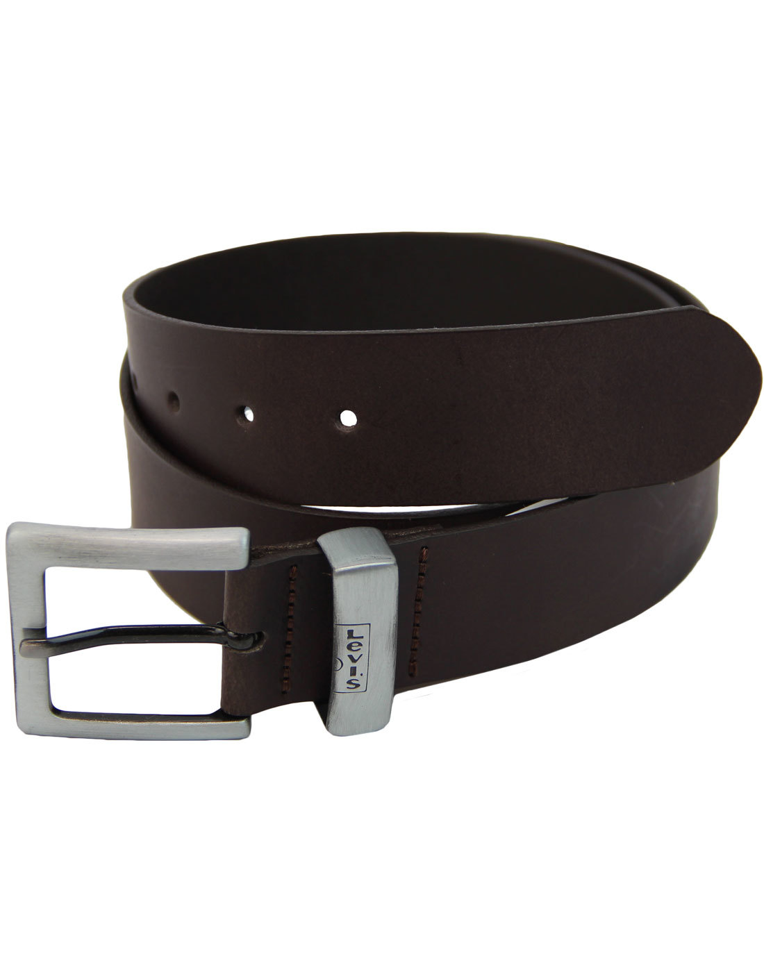 Albert LEVI'S® Retro Signature Keeper Leather Belt