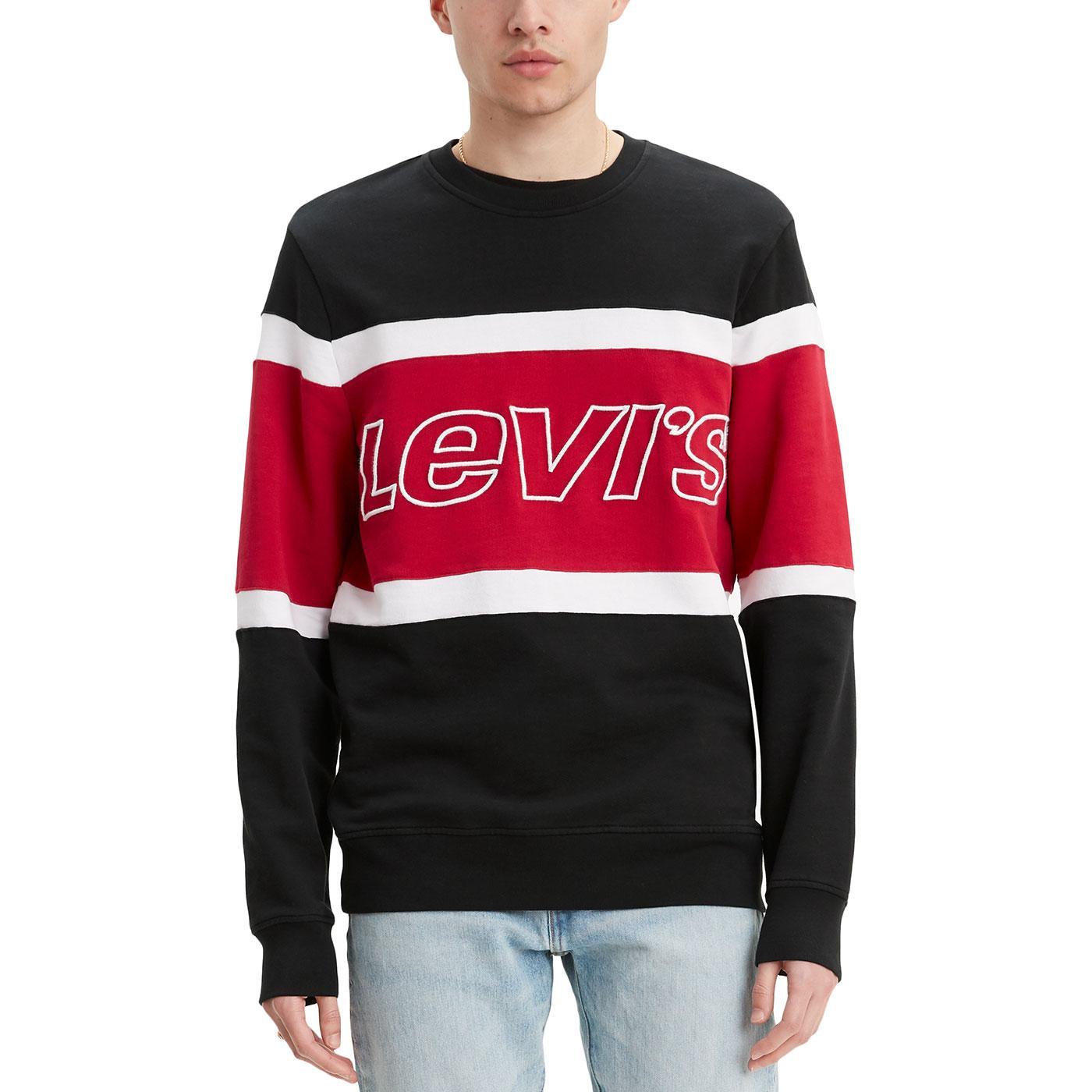 LEVI'S Retro 90s Indie Colour Block Sweatshirt N/R