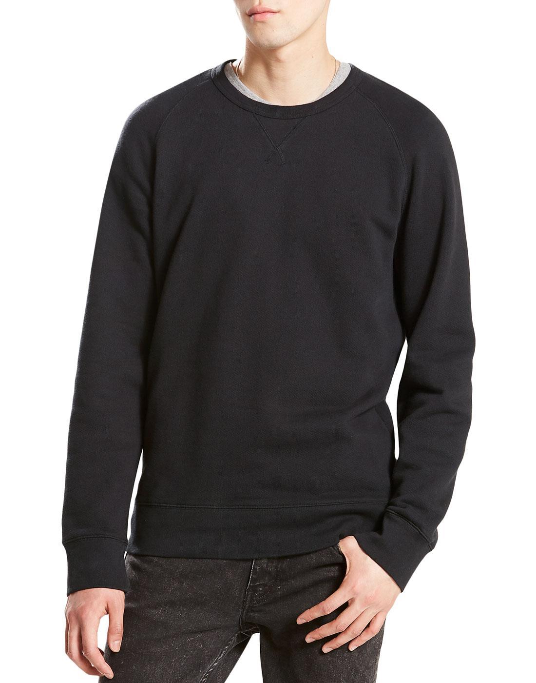 LEVI'S Retro 70s Original Crew Neck Sweatshirt (B)