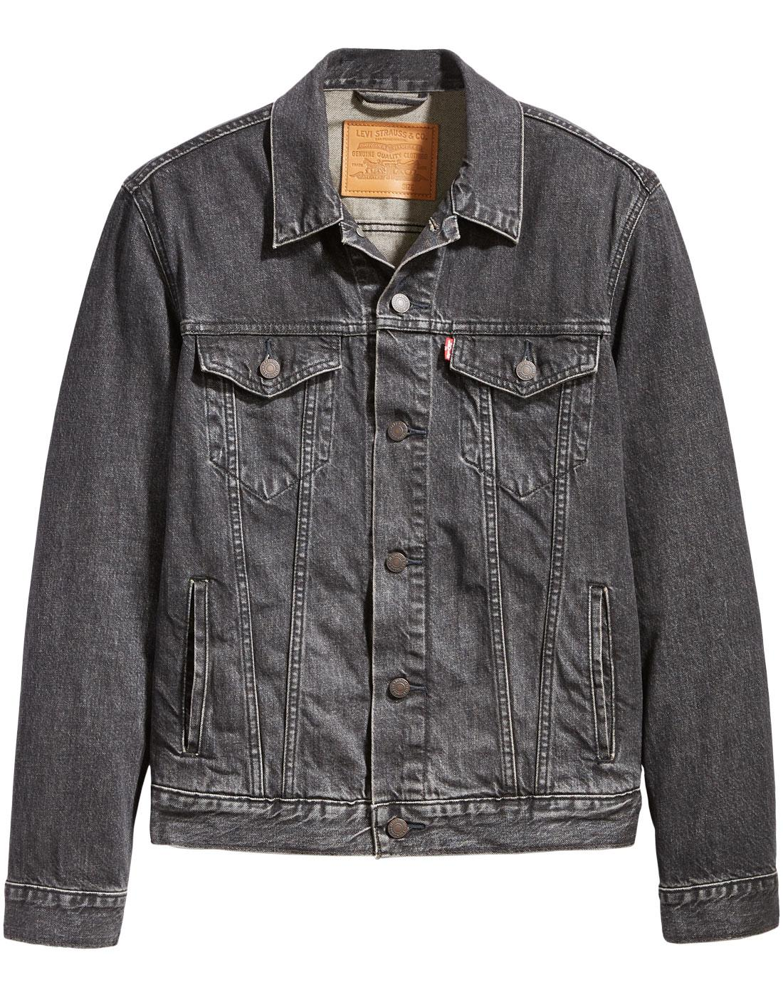 LEVI'S Men's Retro Mod Denim Trucker Jacket FEGIN