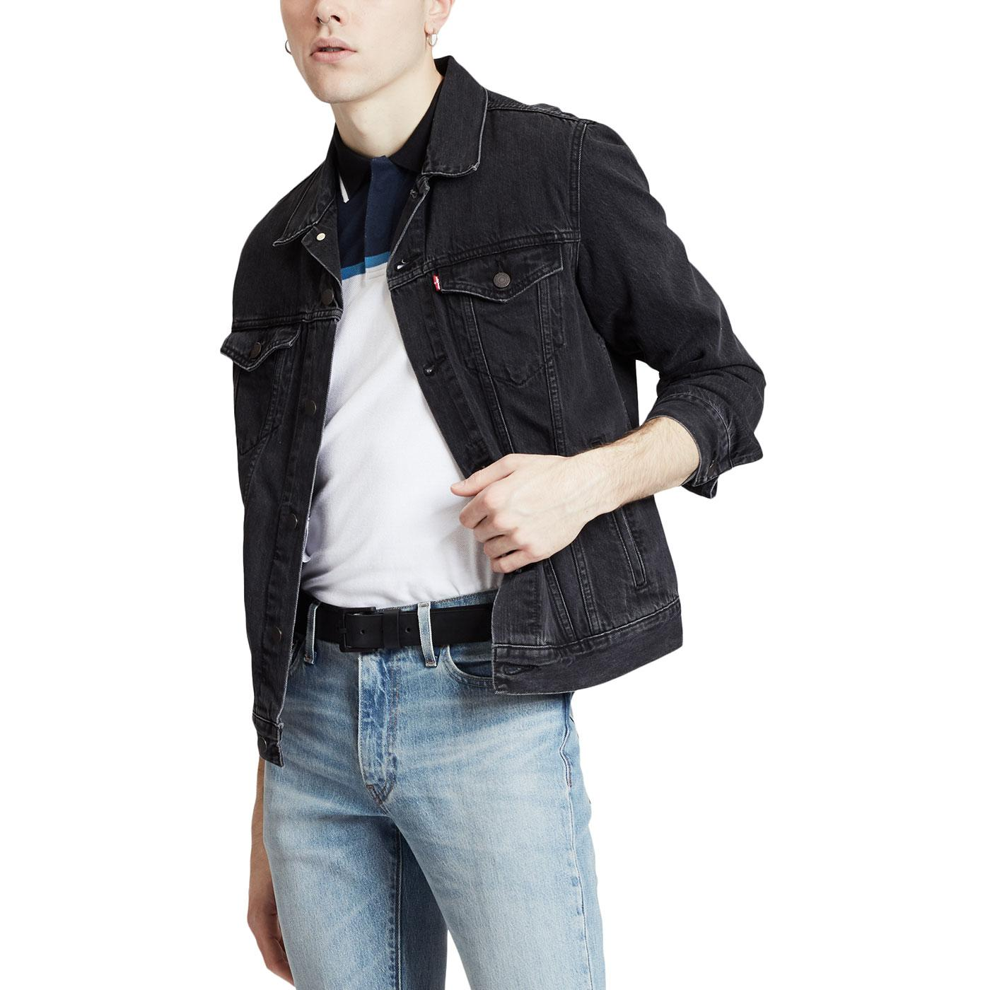 The Trucker LEVI'S Retro Mod Denim Jacket LICORICE