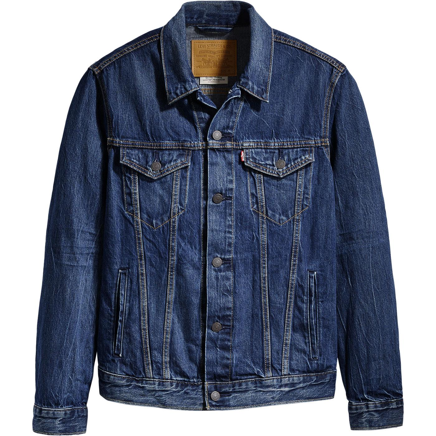 LEVI'S Retro 60s Mod Denim Trucker Jacket (Palmer)