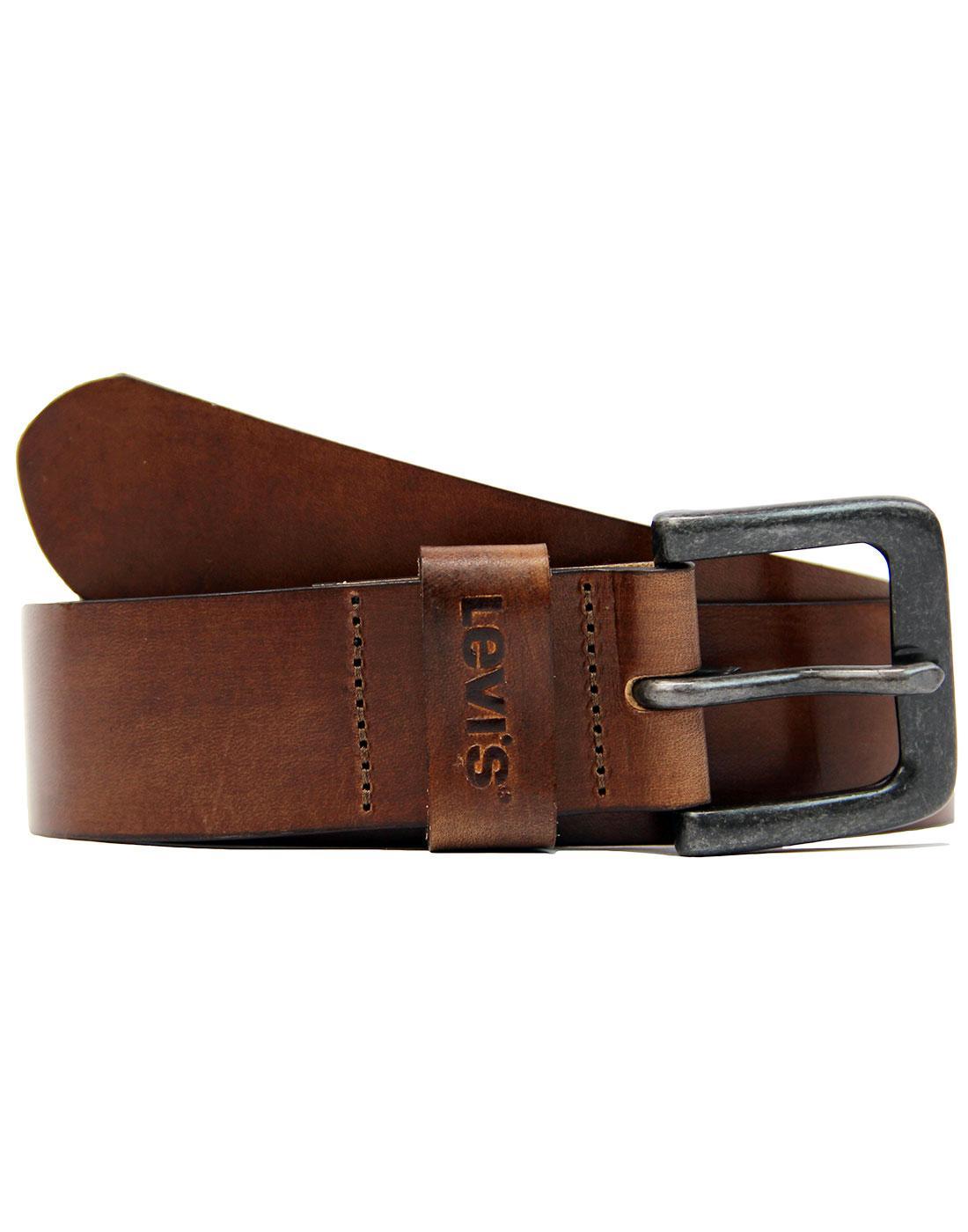 Stinson LEVI'S® 60s Horse Logo Leather Belt