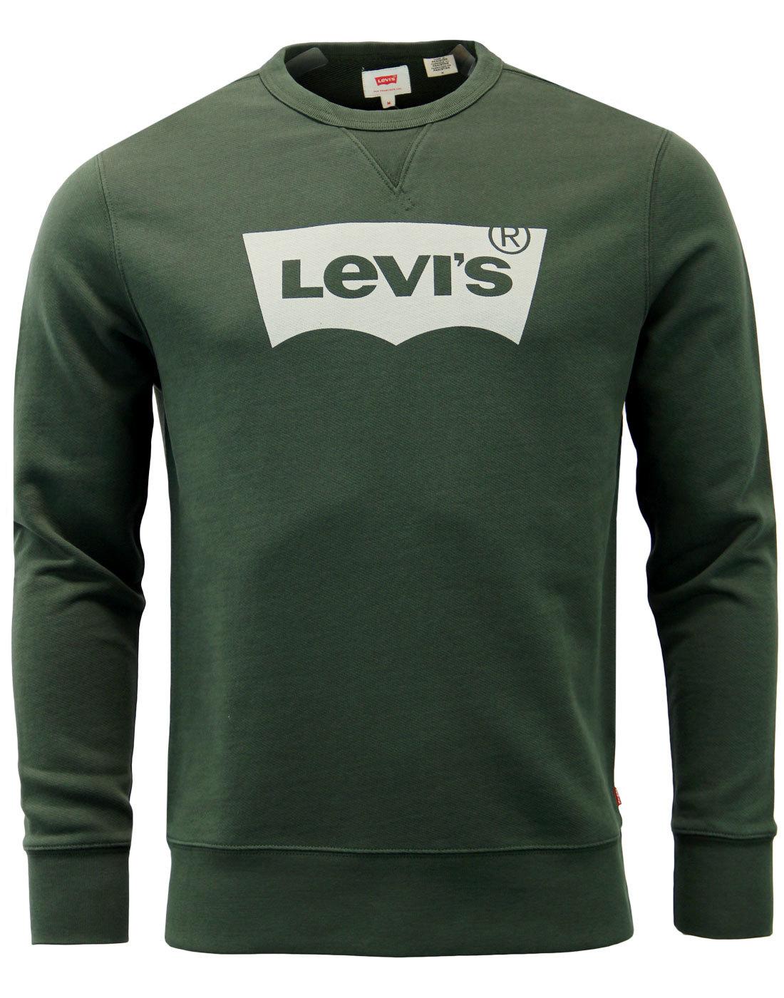 LEVI'S® Retro 1970s Graphic Crew Fleece Sweatshirt