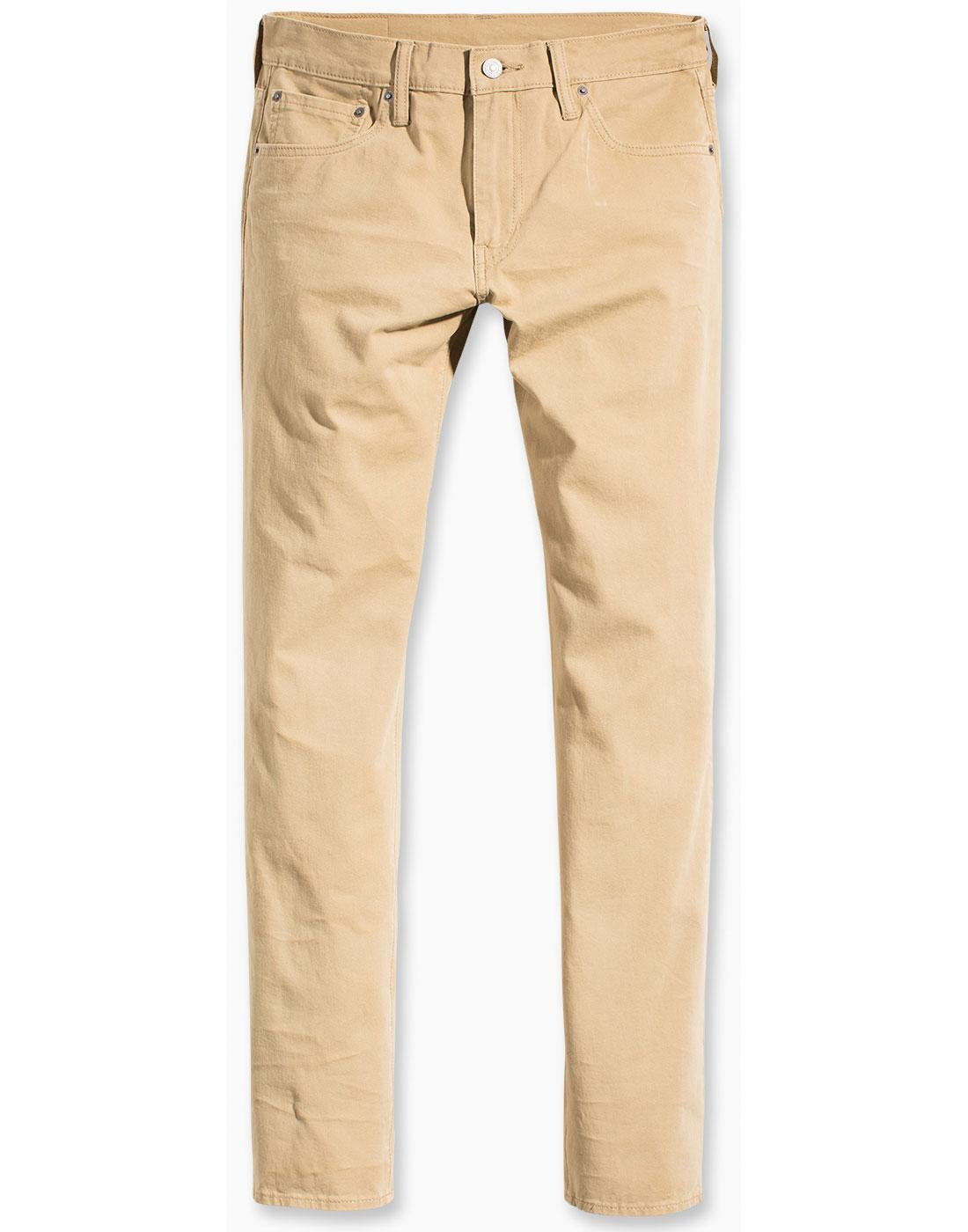 LEVI'S 511 Retro Mod Slim Fit Chinos HARVEST GOLD