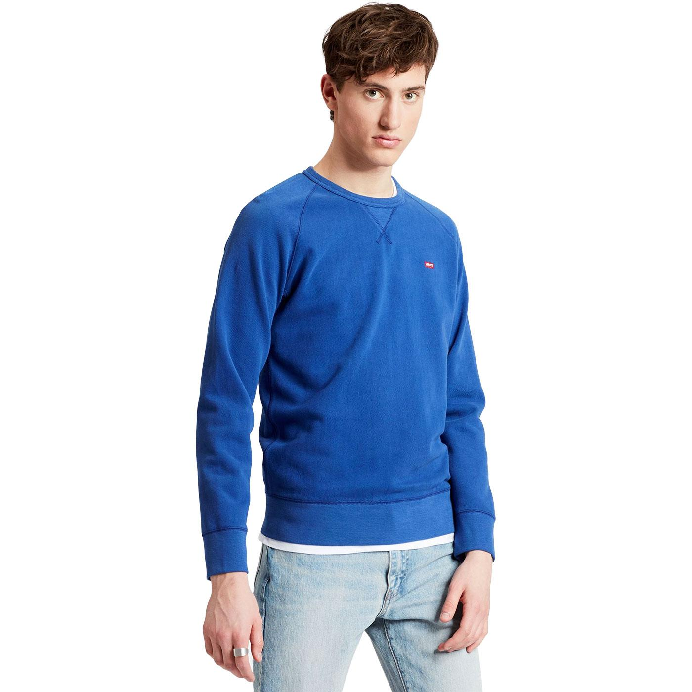 LEVI'S Men's HM Icon Crew Sweatshirt SODALITE BLUE