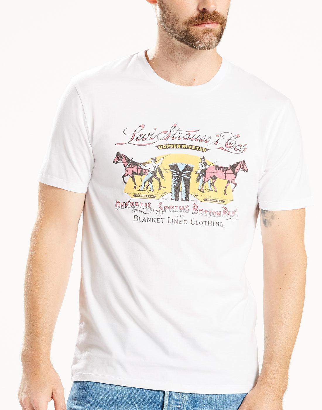 LEVI'S® Men's Vintage Horse Logo Poster T-Shirt