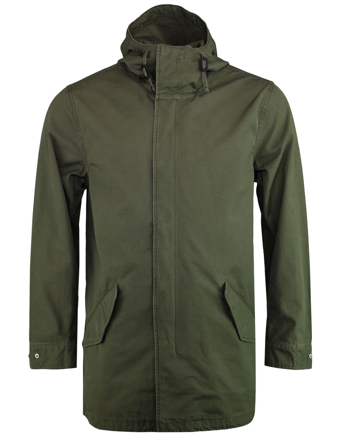 LEVI'S 60s Mod Lightweight Fishtail Parka Jacket O