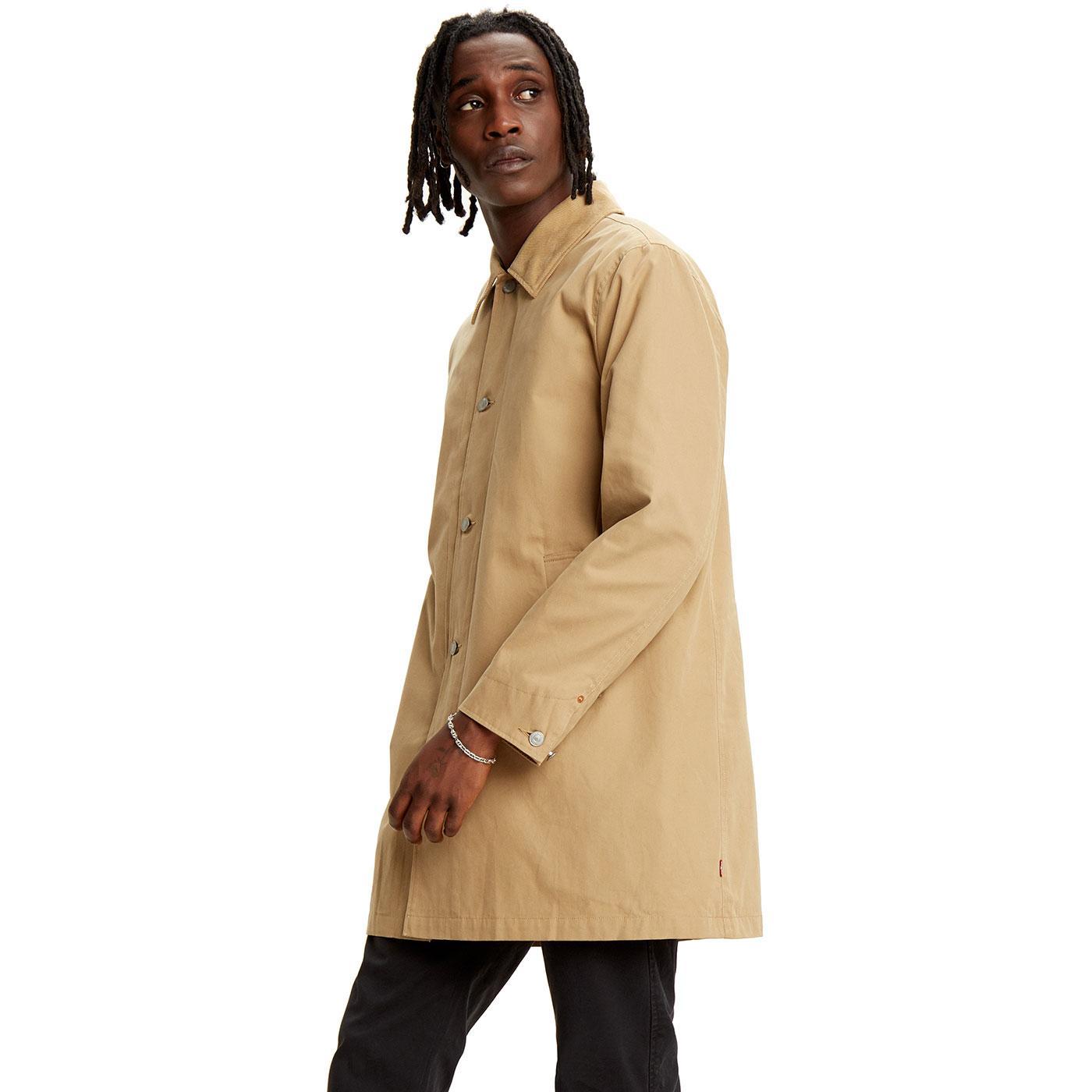 LEVI'S Men's Mod Long Utility Coat (Harvest Gold)