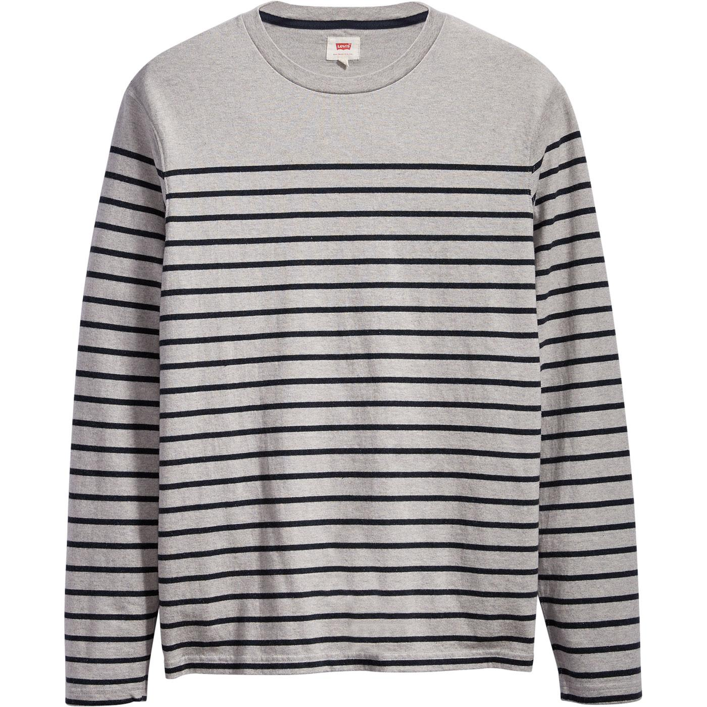 Mission LEVI'S Men's Retro 60s Mod Breton Tee (GV)