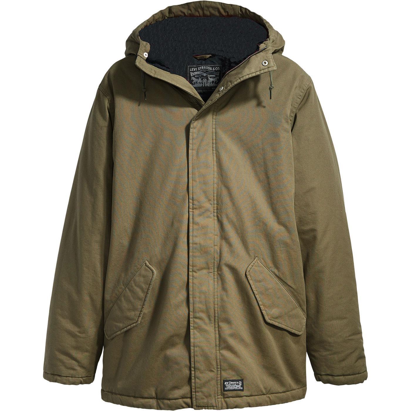 LEVI'S Men's Mod Thermore Padded Parka Jacket (ON)