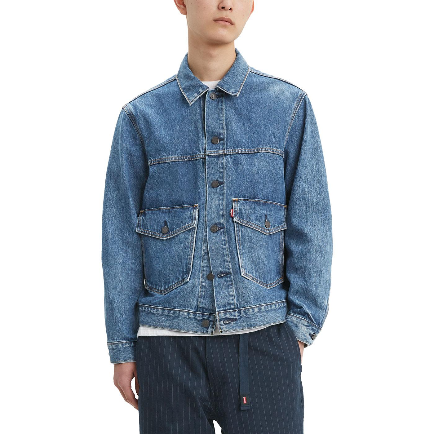 LEVI'S Mod Patch Pocket Trucker Jacket (Gear Box)