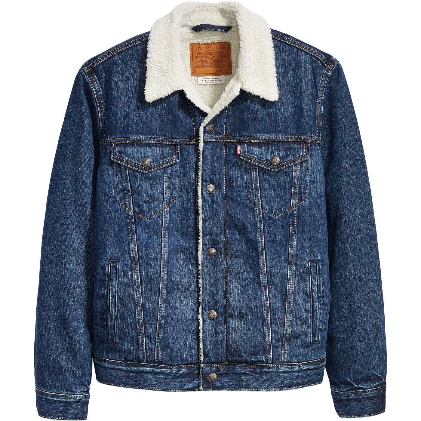 LEVI'S Type 3 Sherpa Denim Trucker Jacket (Palmer)