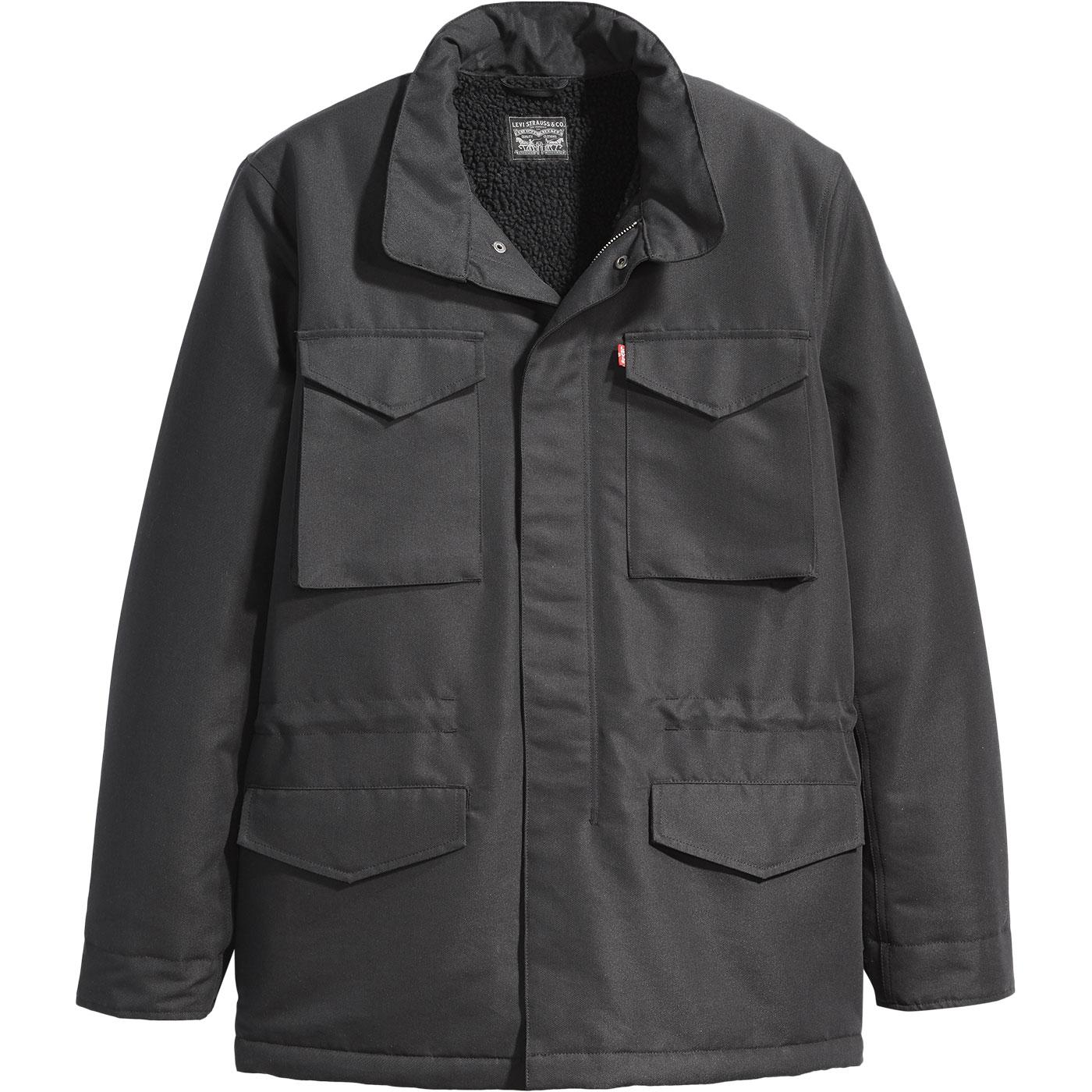 LEVI'S Men's Retro Military Sherpa Field Jacket