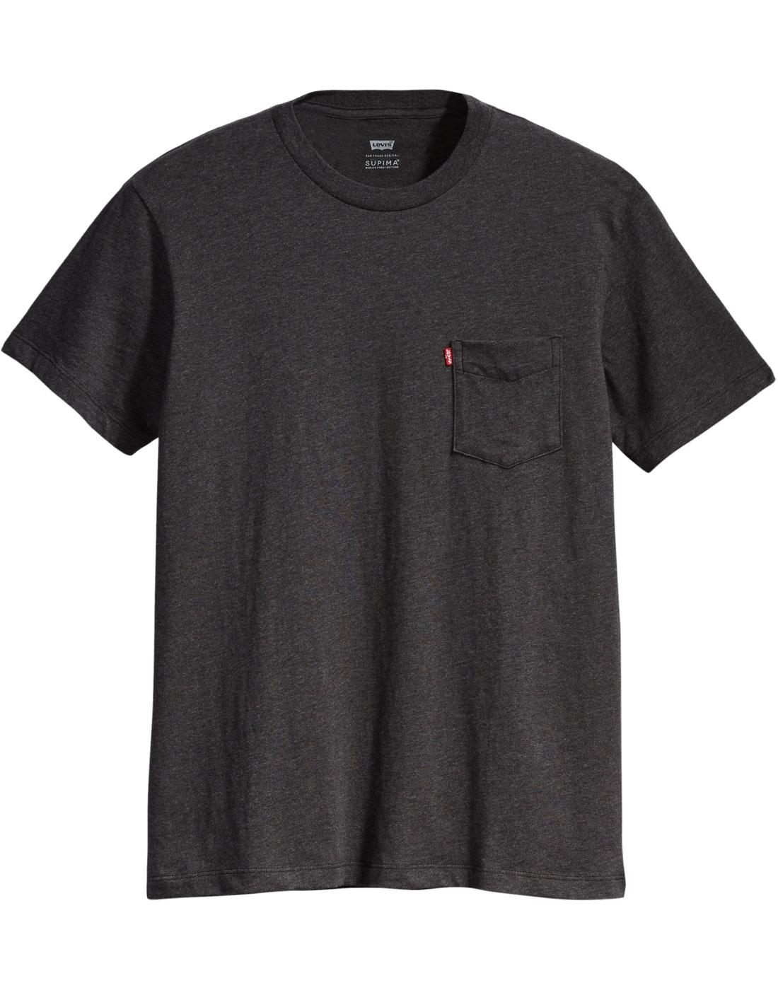 LEVI'S Sunset Pocket Retro 70s T-shirt (OBSIDIAN)