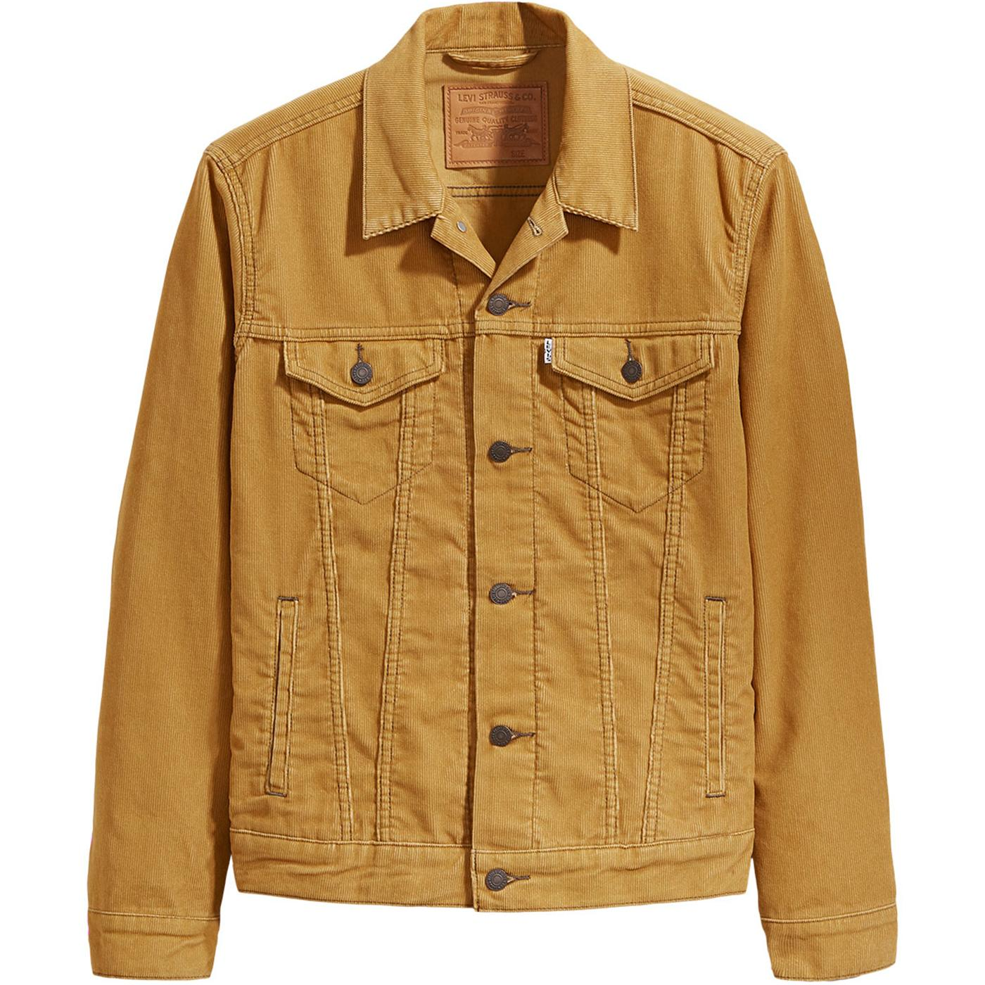 LEVI'S Retro 60's Cord Trucker Jacket- Wood Thrush