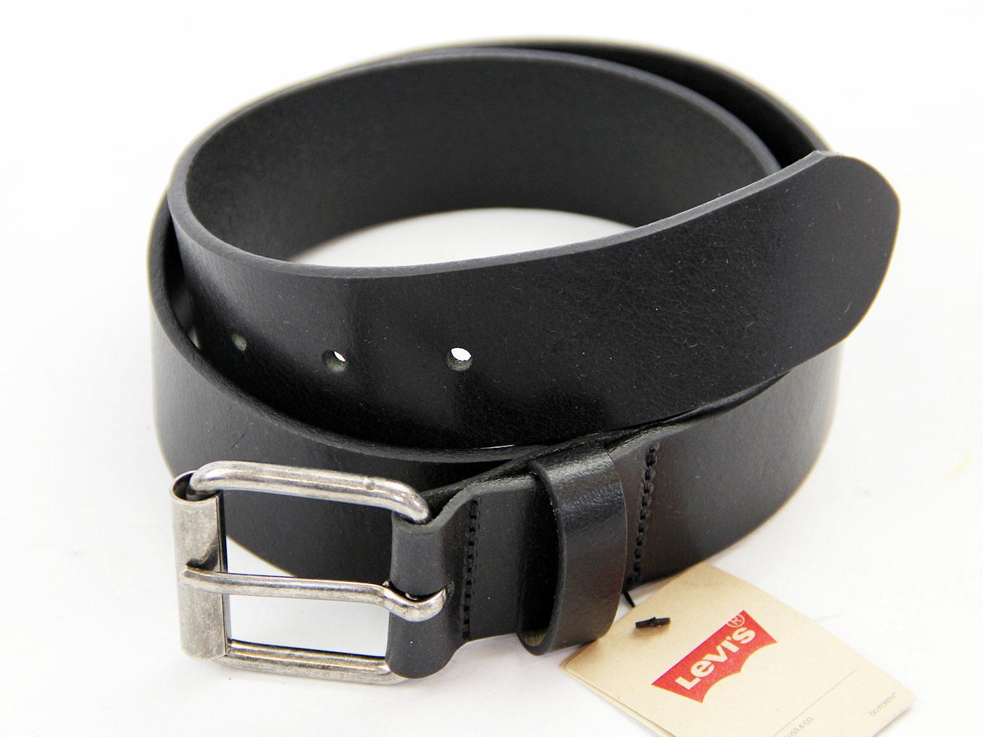 New Patrol LEVI'S® Retro Full Grain Leather Belt
