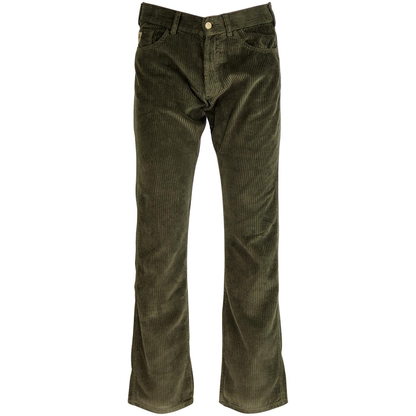 New Dallas LOIS 1980s Mod Jumbo Cord Trousers Ol