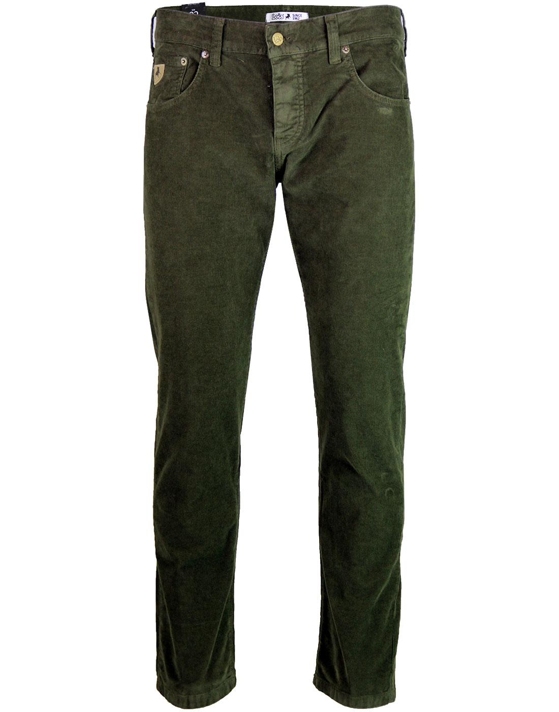 Sierra LOIS Retro 80s Casuals Needle Cord Trousers