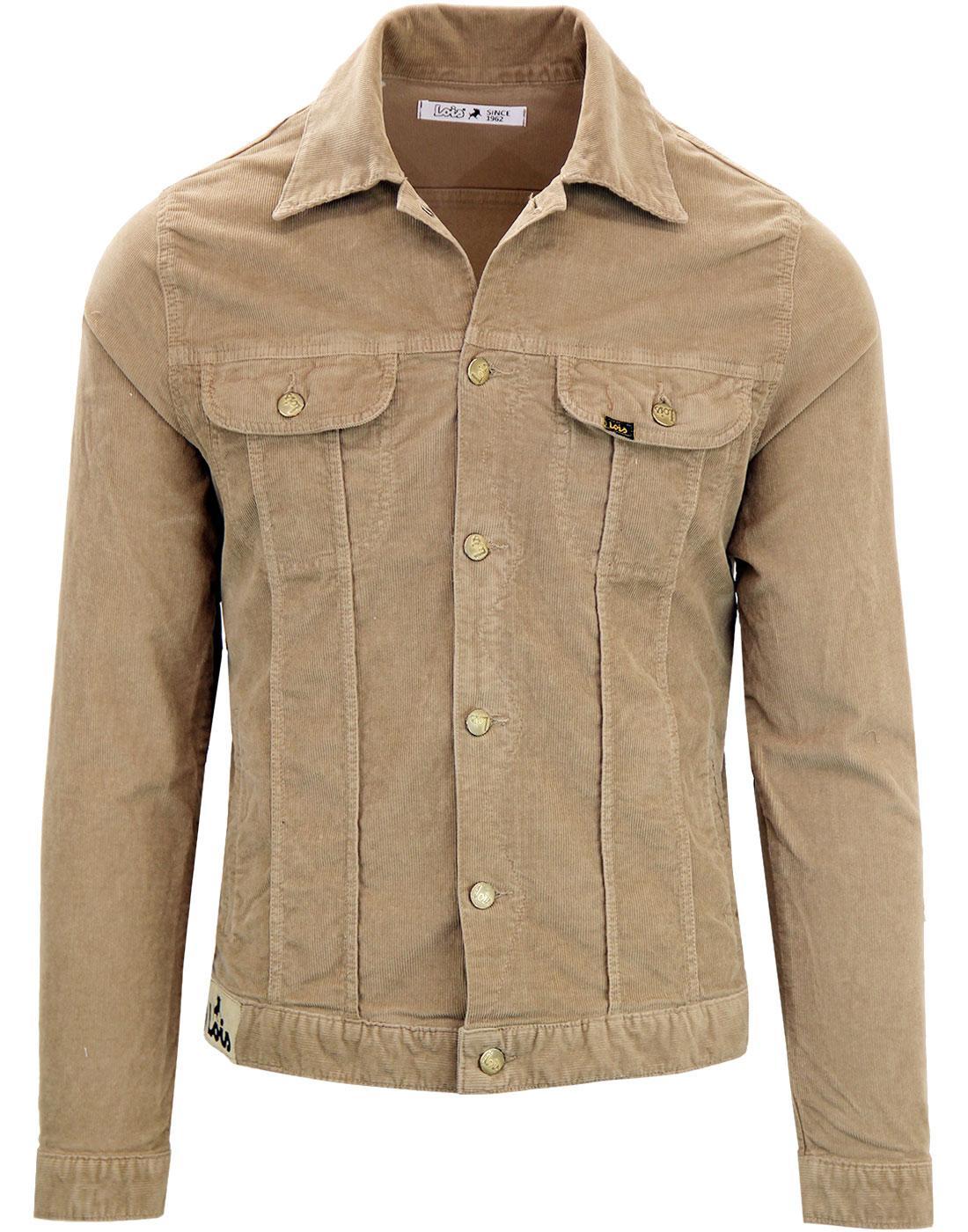 Tejana LOIS Retro 70's Mod Thin Cord Jacket (S)
