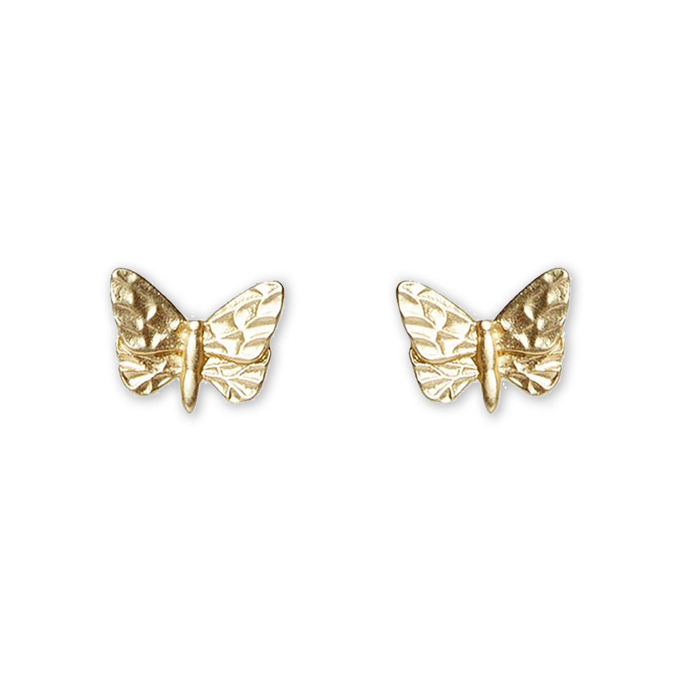 Abdon LOUCHE Vintage Butterfly Stud Earrings