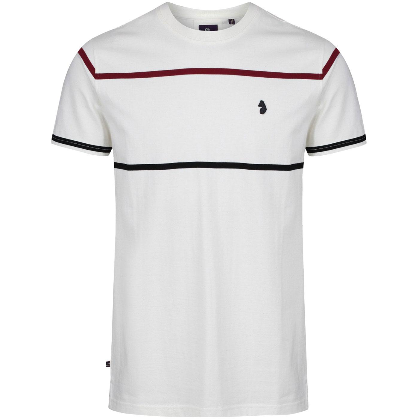 Acourt LUKE Yarn Dye Stripe Crew Neck T-Shirt