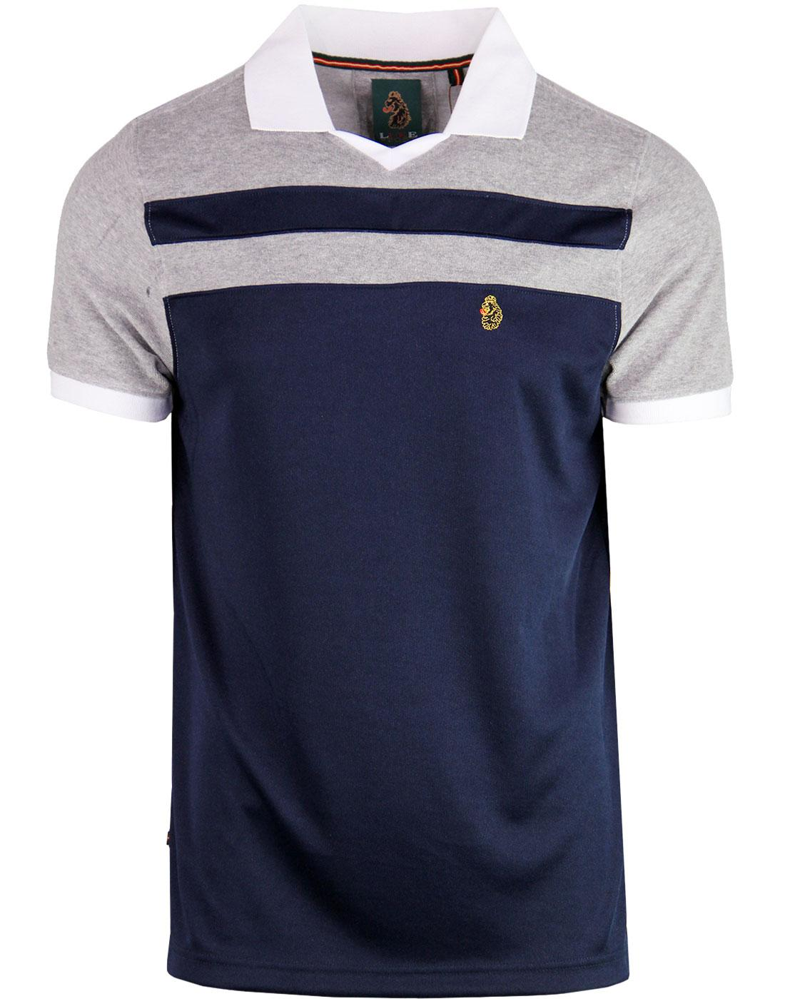 Away LUKE 1977 Retro Indie Football Collar Polo