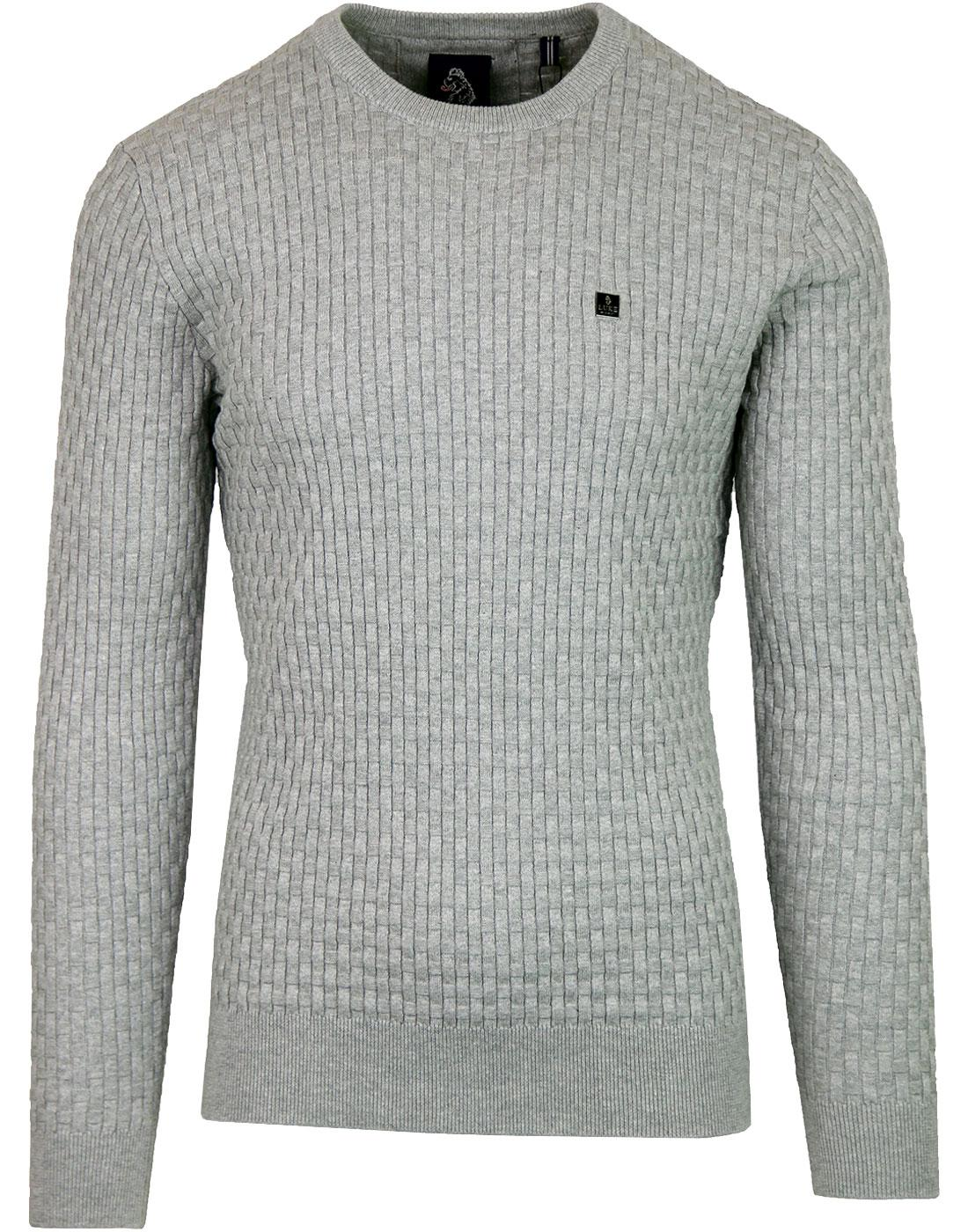 Binary LUKE 1977 Retro Basket Weave Jumper