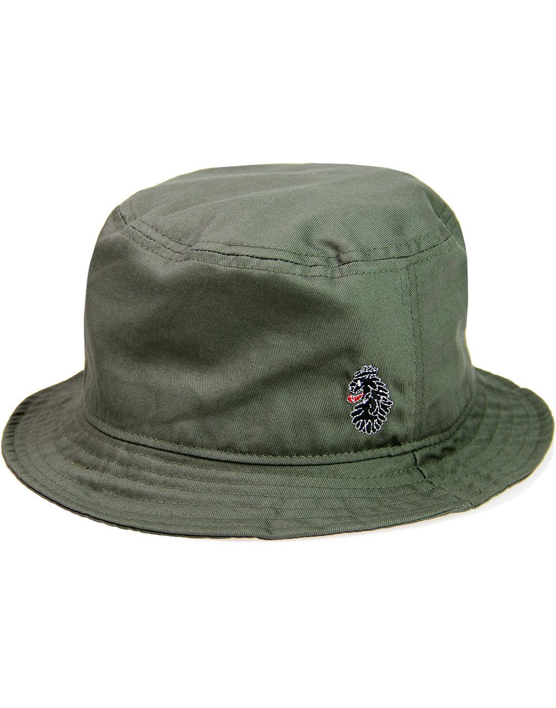 Dayton LUKE Retro Indie Logo Bucket Hat MOSS