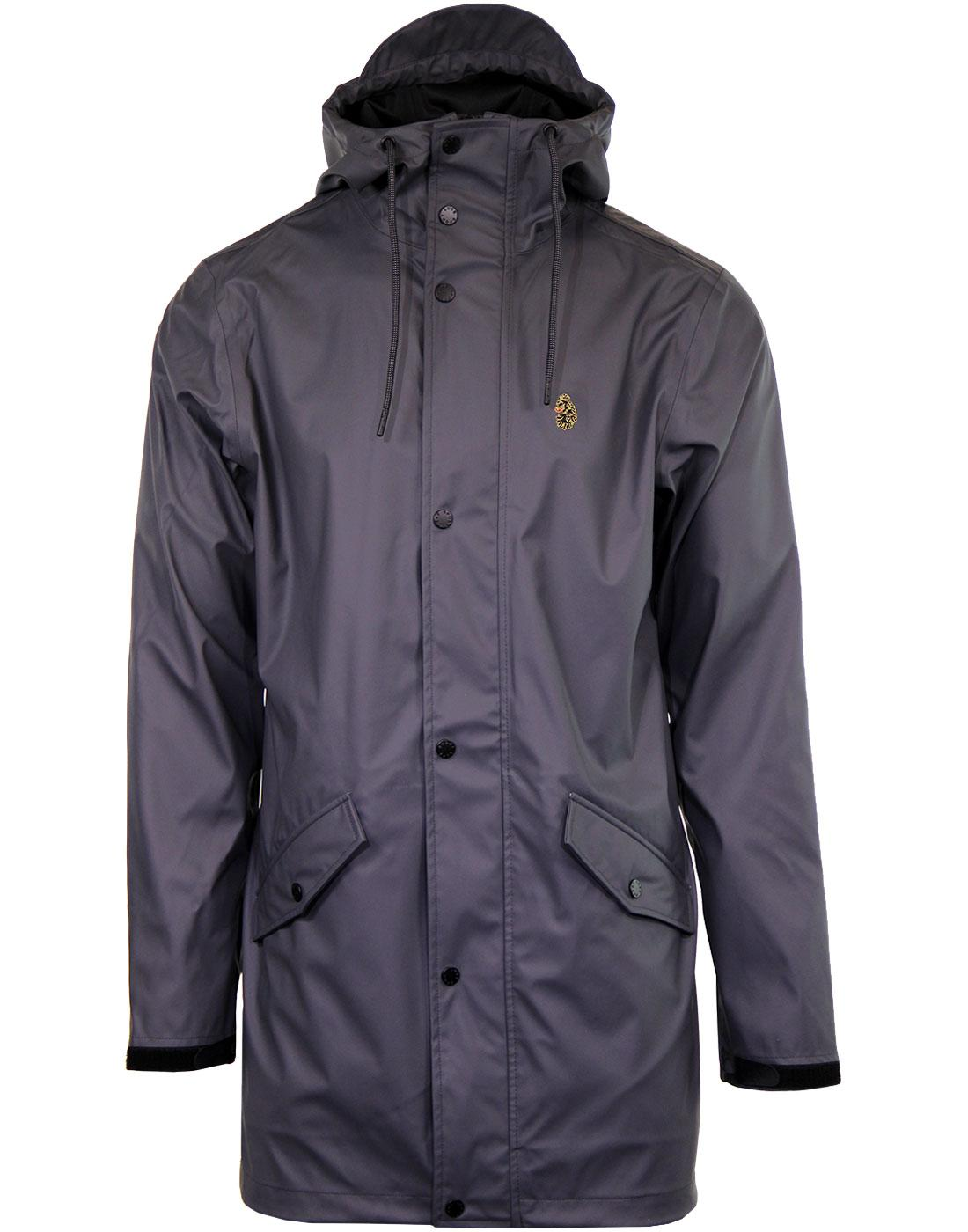 Fulwood LUKE 1977 Retro Indie Fishtail Mac Parka