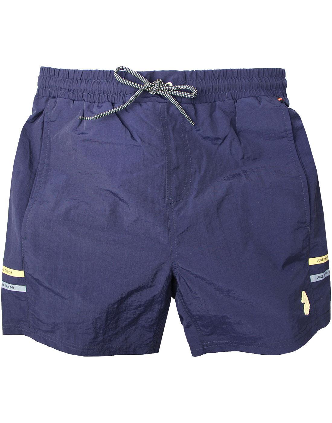 Ragy LUKE 1977 SPORT Men's Retro Swim Shorts NAVY