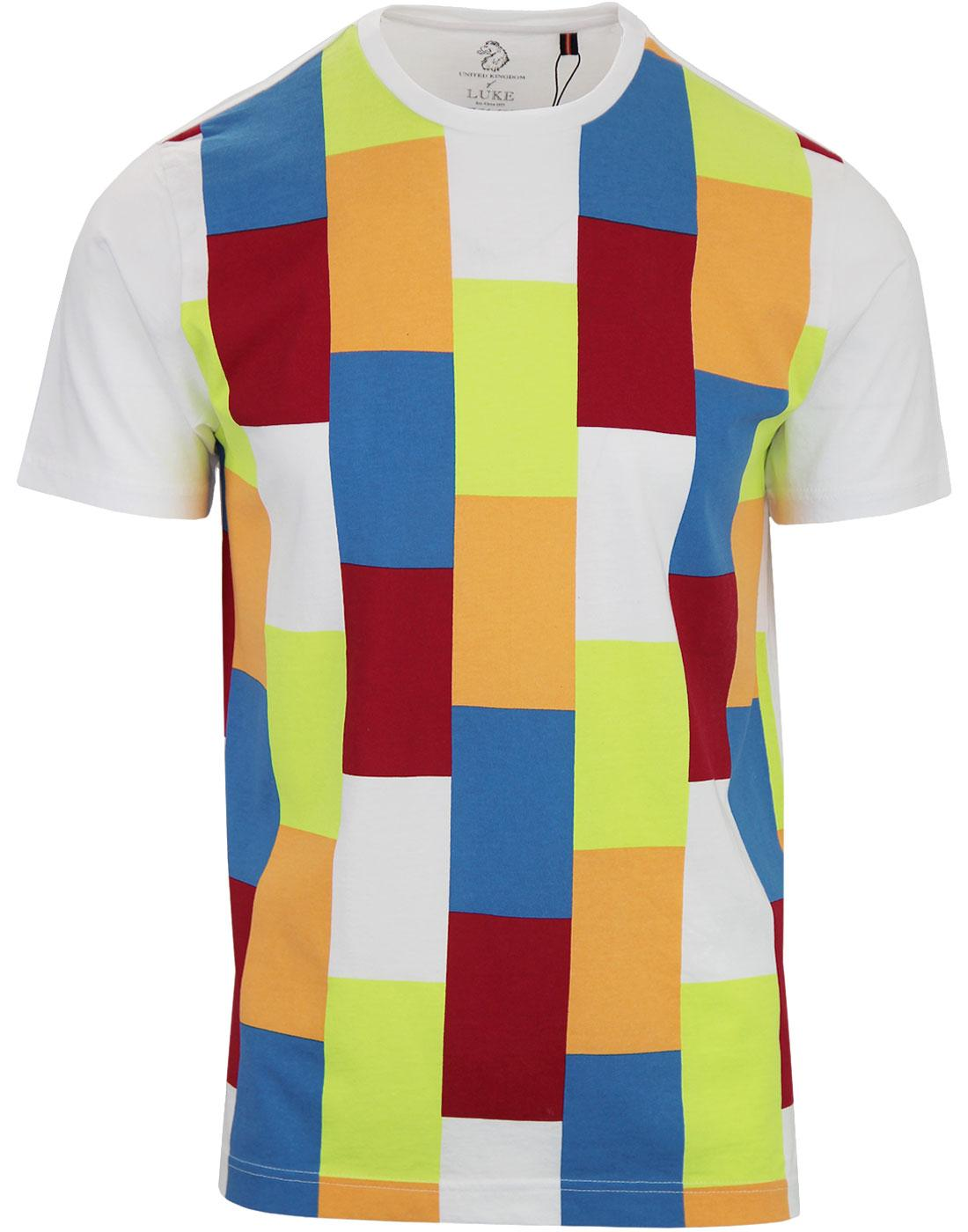 Against the Wind LUKE Retro Block Colour Tee (W)