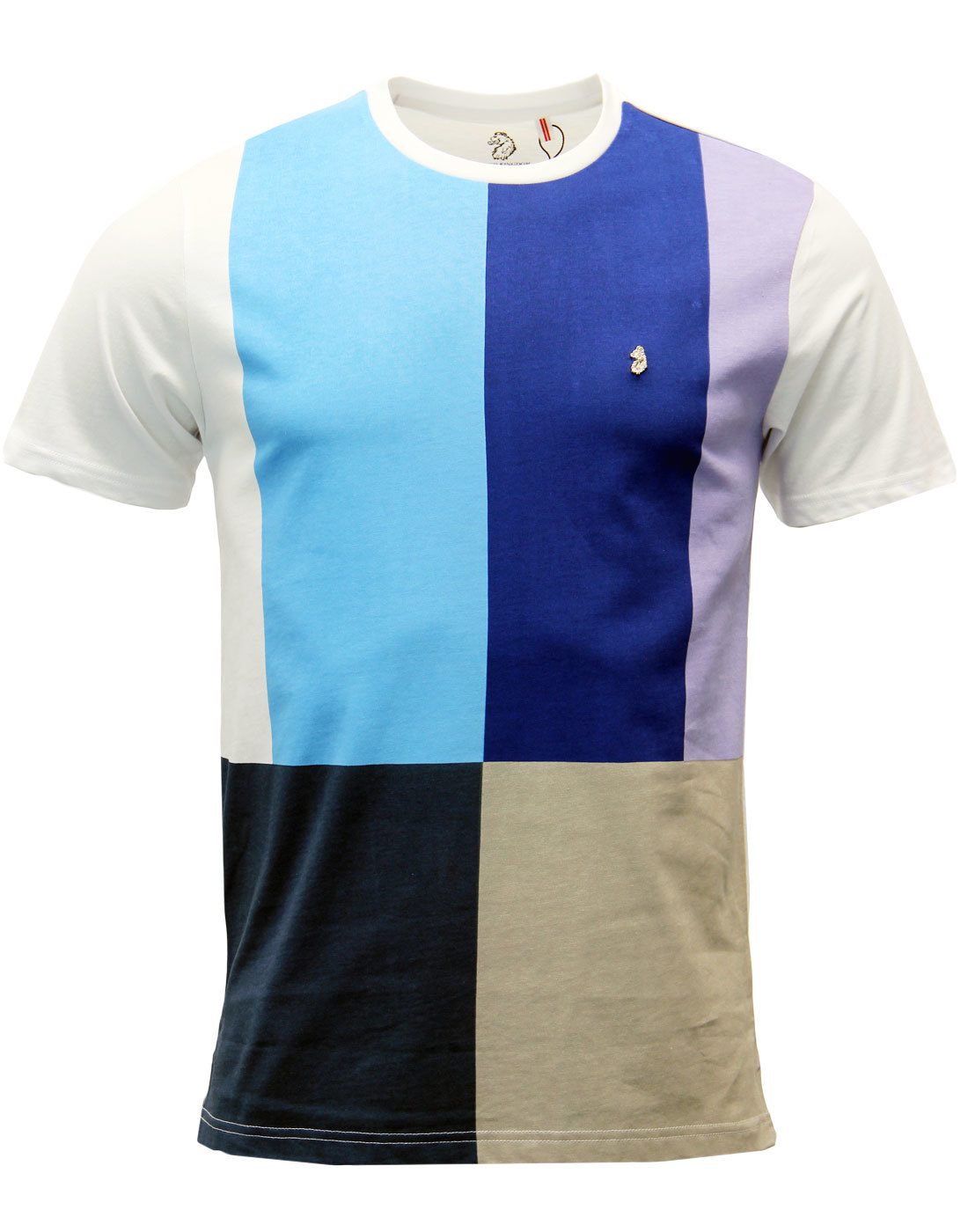 Bambi LUKE 1977 Retro Mondrian Colour Block Tee