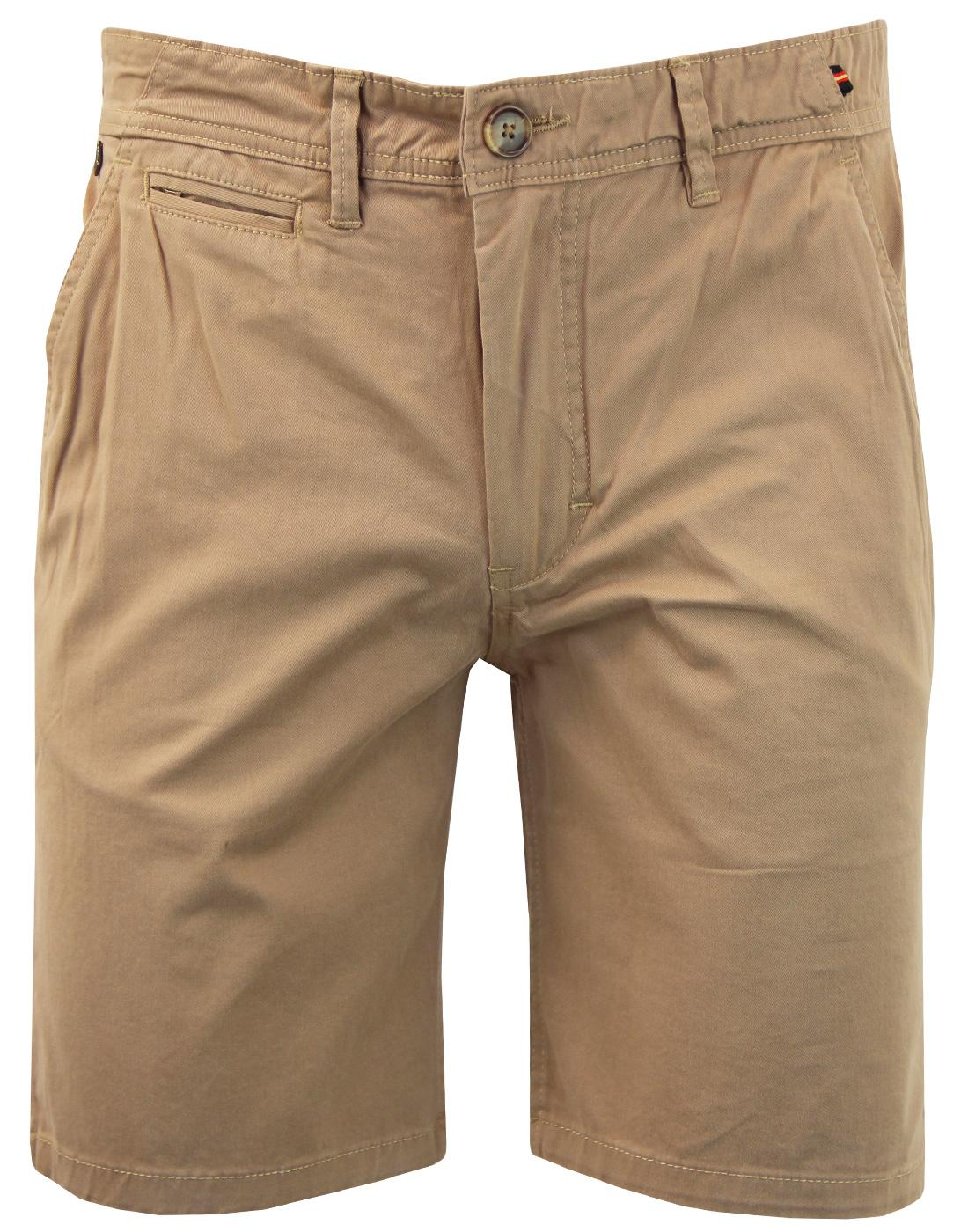 Corbitt LUKE Men's Military Chino Shorts SAND