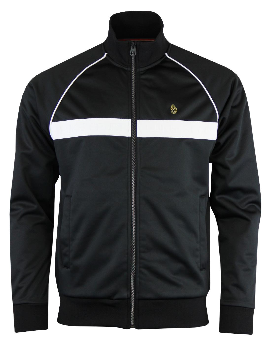 Eric LUKE 1977 Retro Neoprene Stripe Track Jacket